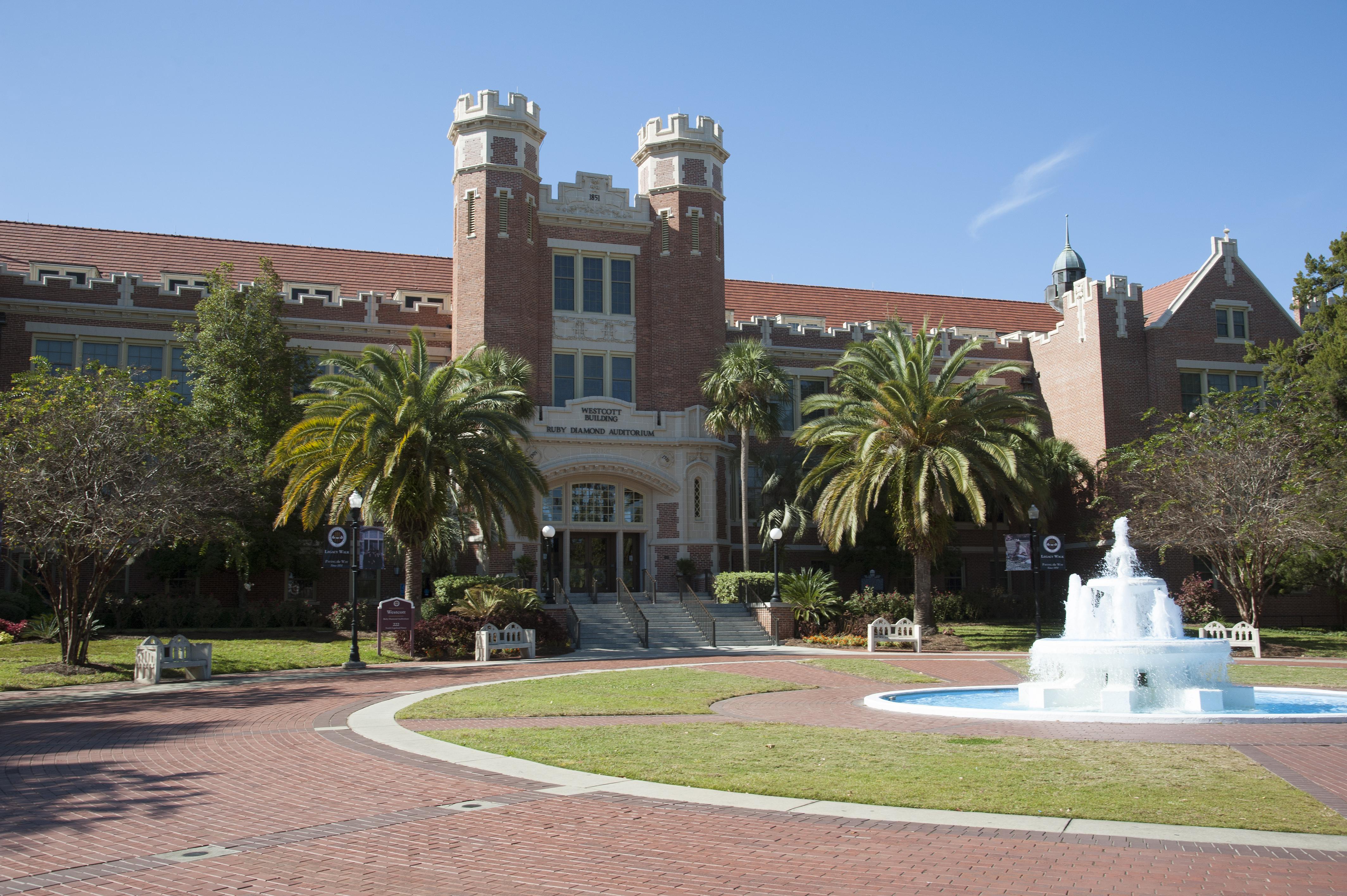 Florida State University the Westcott Building