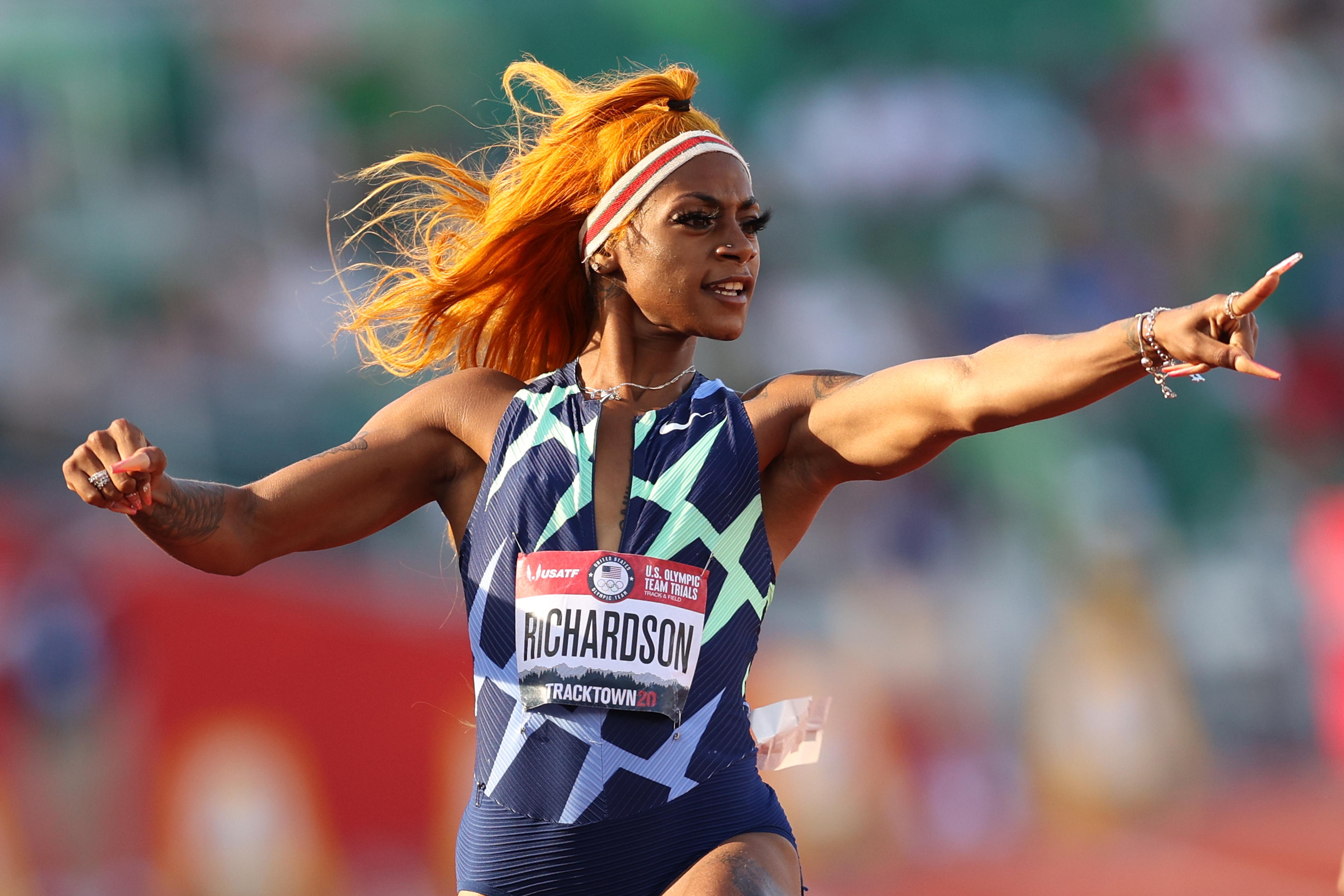 2020年美国奥运会田径比赛;现场小组试验-第2天