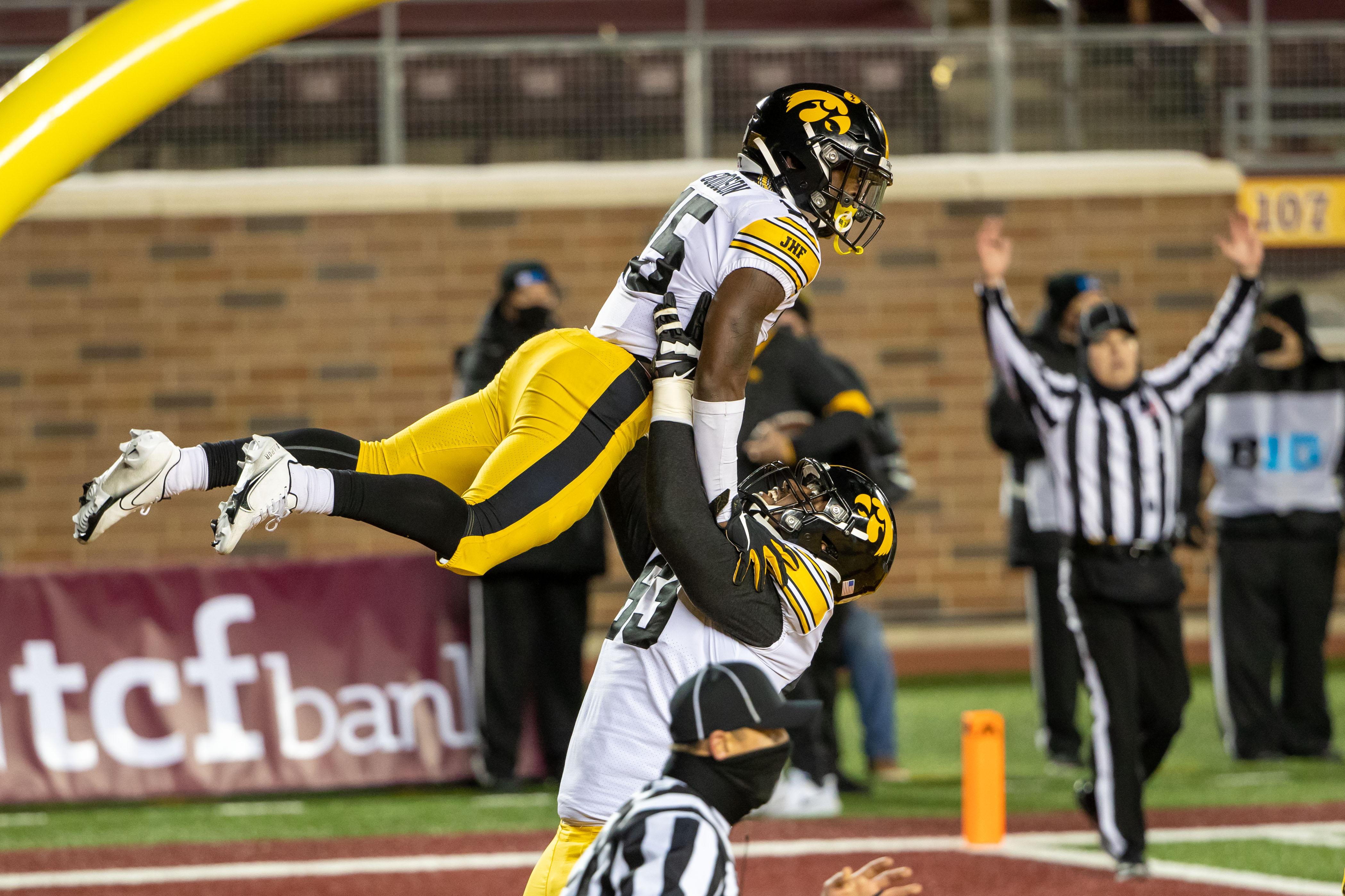 NCAA Football: Iowa at Minnesota
