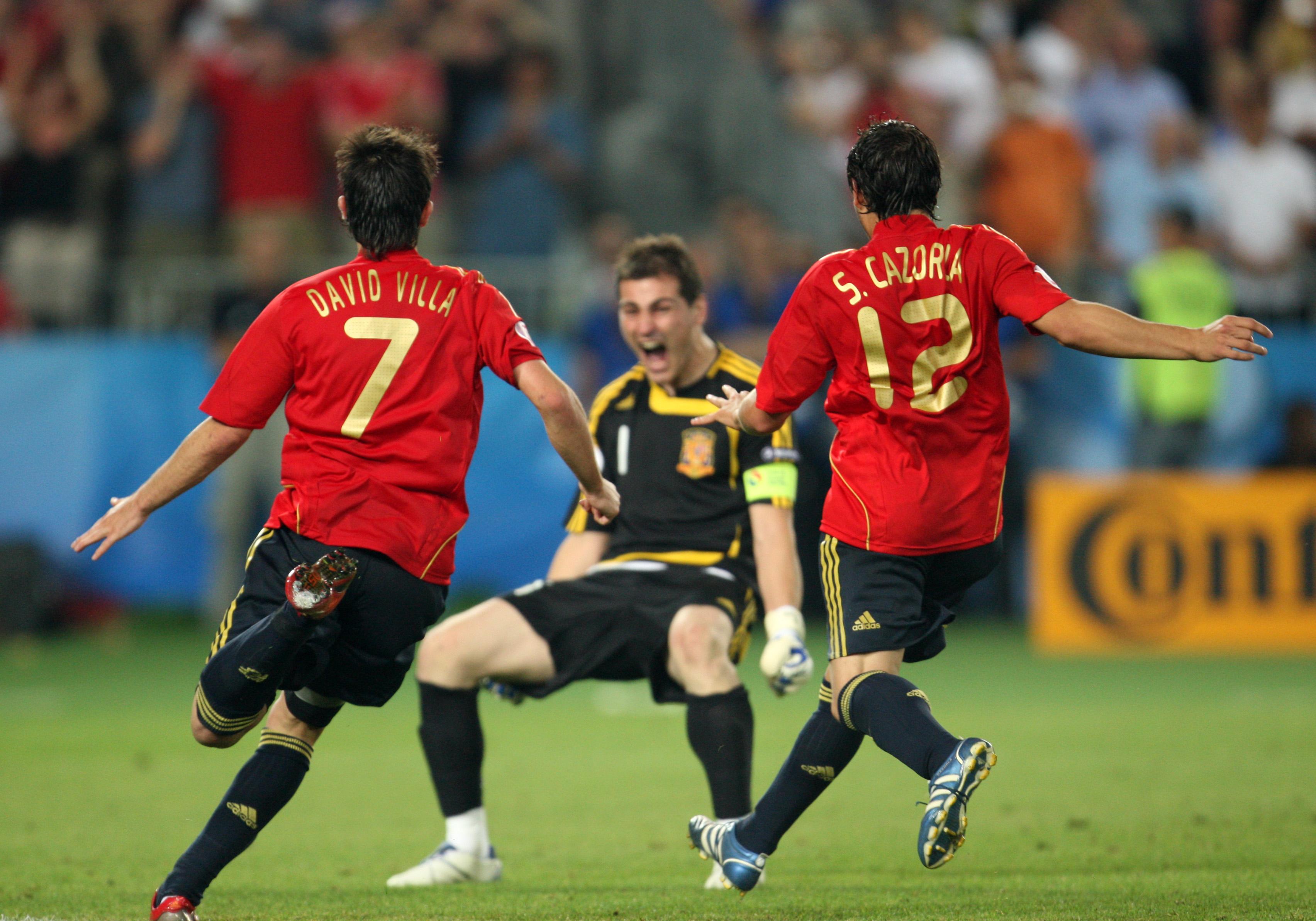Soccer - UEFA EURO 2008 - Spain vs. Italy