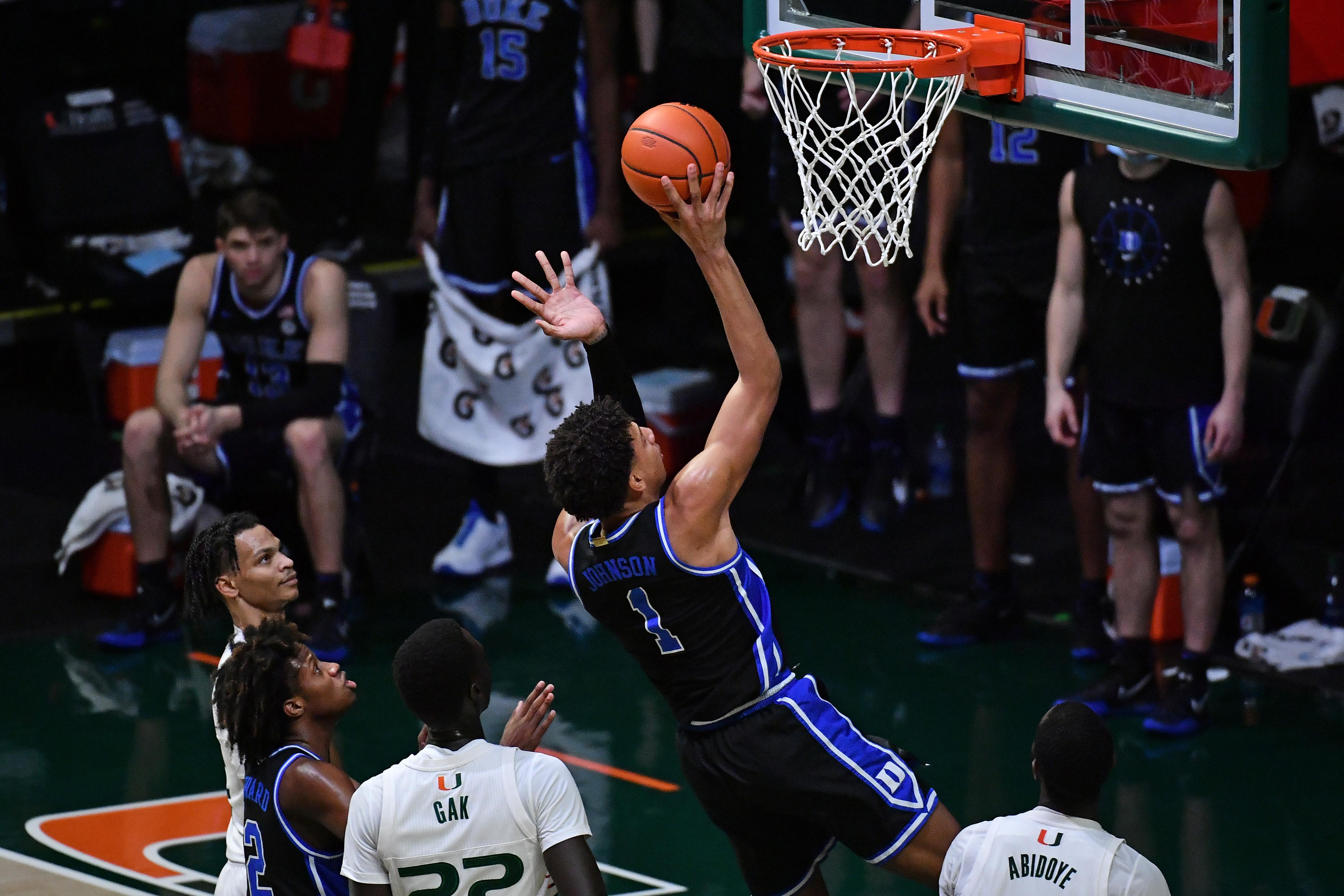 NCAA Basketball: Duke at Miami-Florida