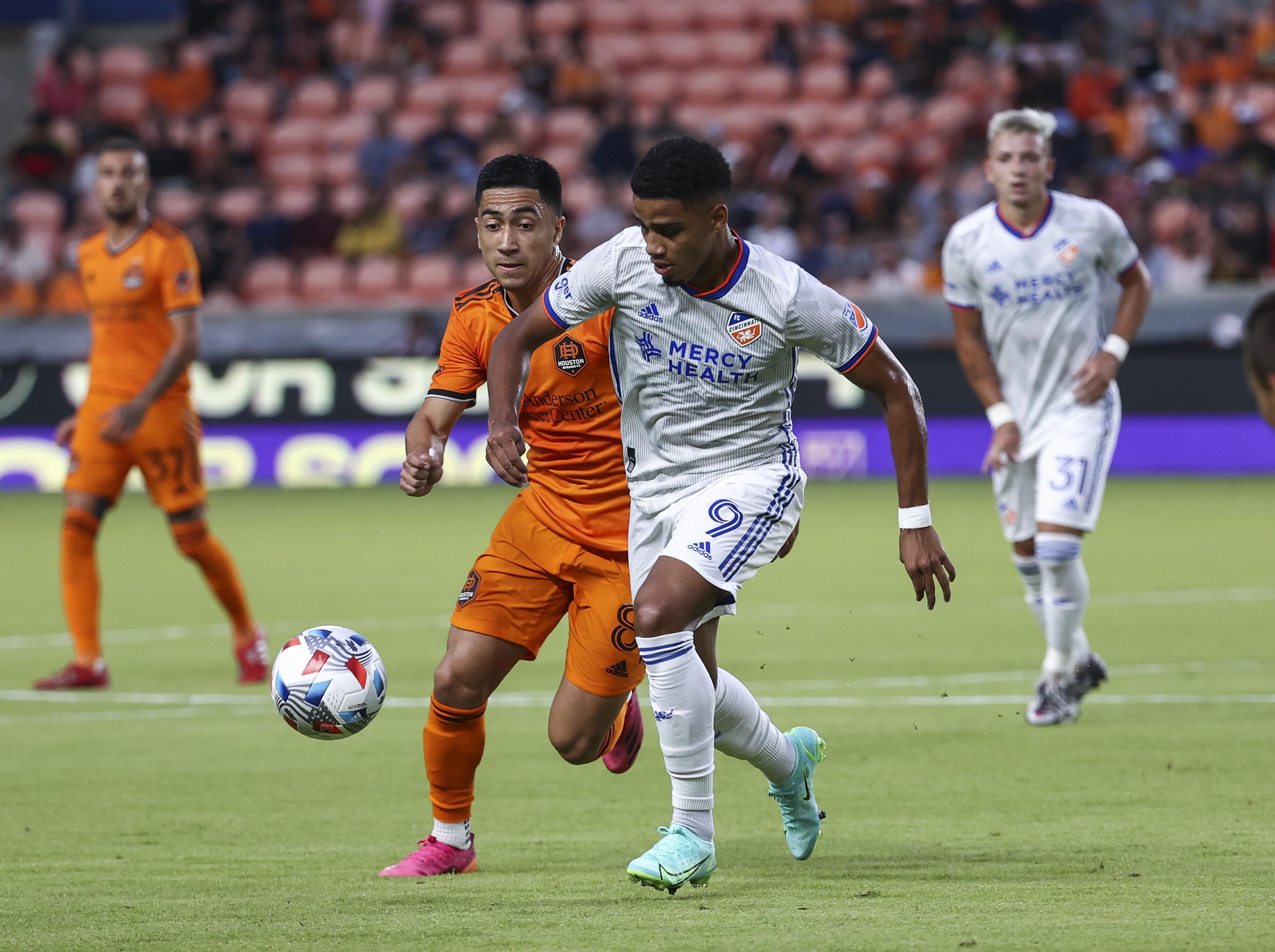 MLS: FC Cincinnati at Houston Dynamo