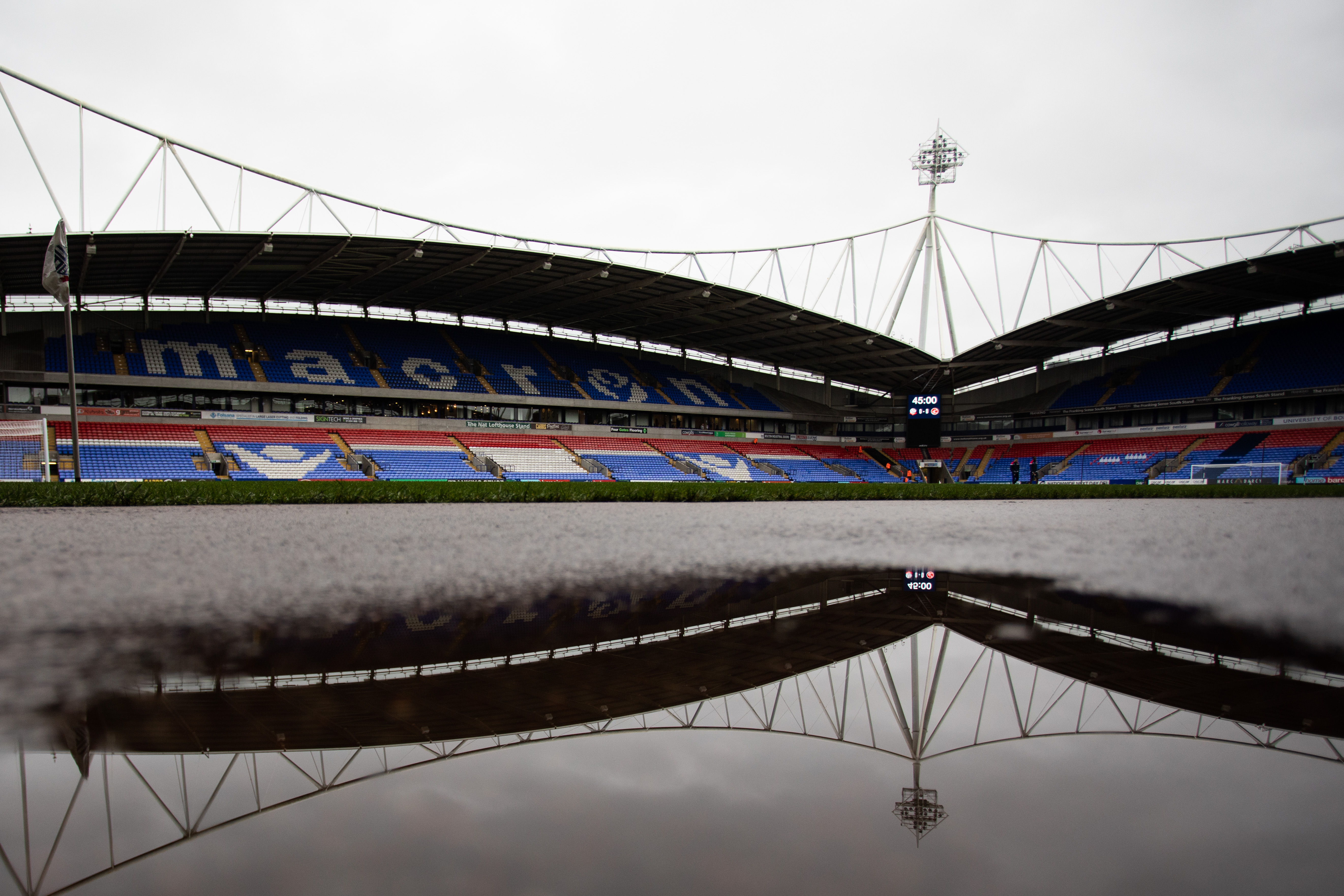 Bolton Wanderers v Fleetwood Town - Sky Bet Leauge One