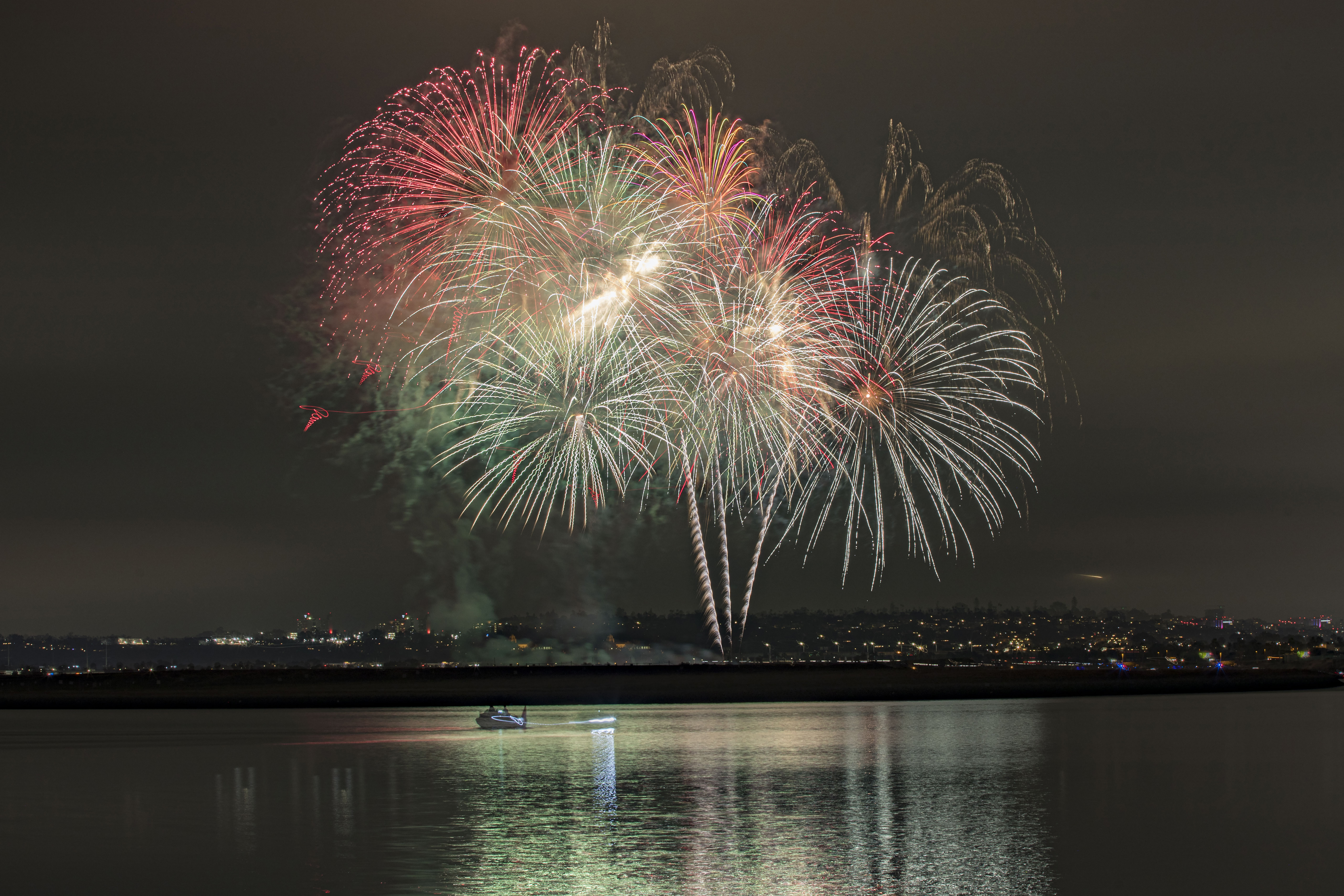 Residents Of San Diego, California Celebrate The 4th Of July Holiday Weekend