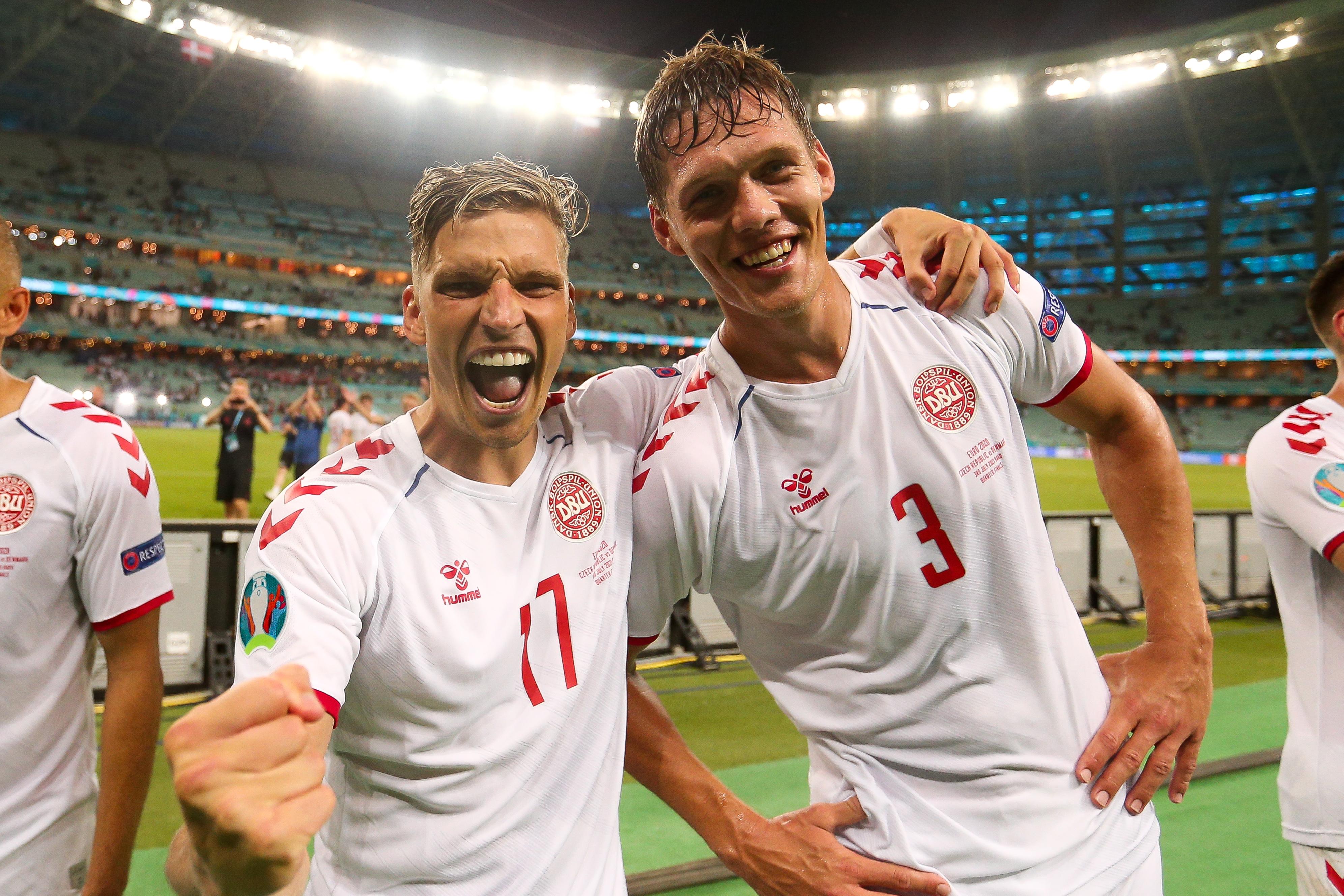 Denmark, Jannik Vestergaard, Czech Republic, England, Southampton, Saints, Premier League, Euro 2020