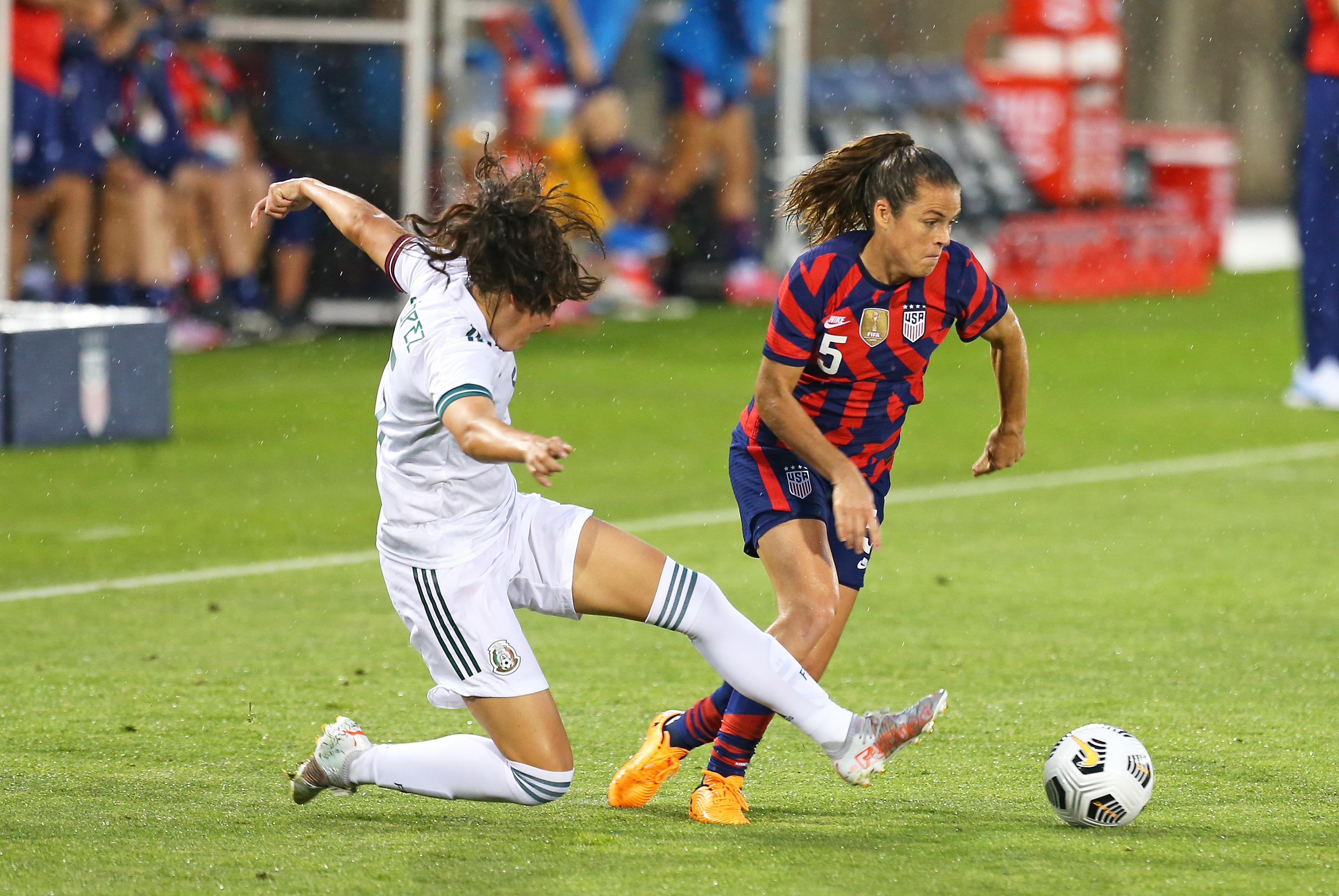 SOCCER: JUL 01 Women's - USA v Mexico