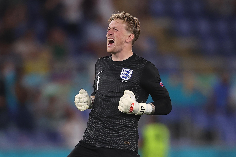Jordan Pickford - England - UEFA Euro 2020: Quarterfinal