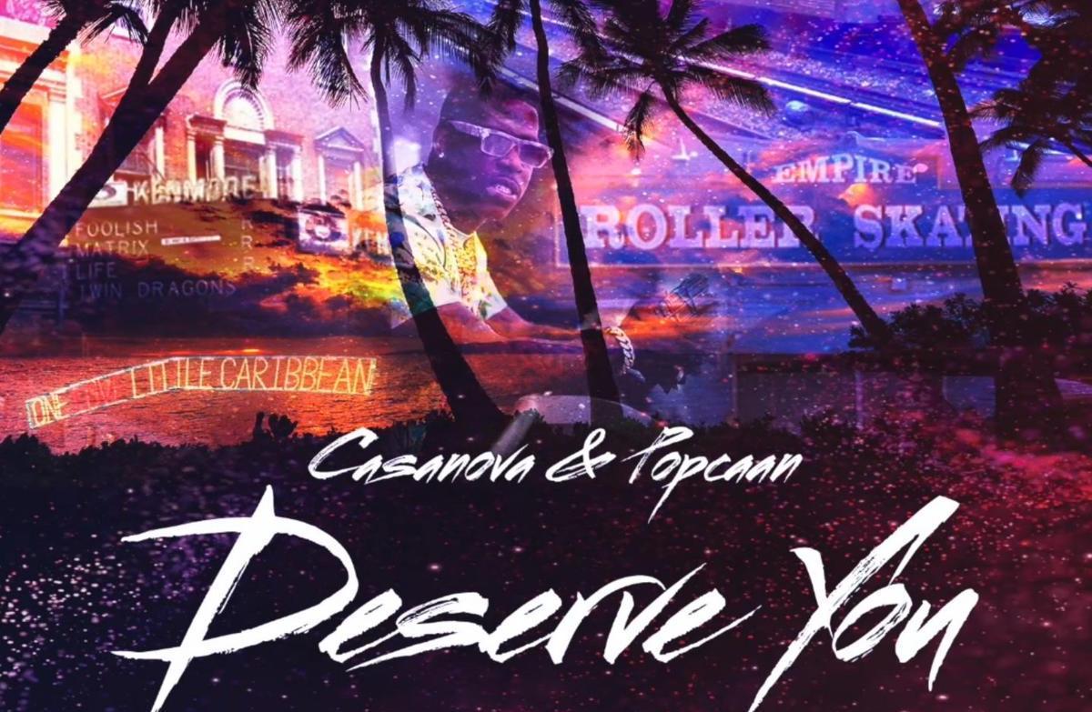 """Casanova's """"Deserve You"""" artwork"""