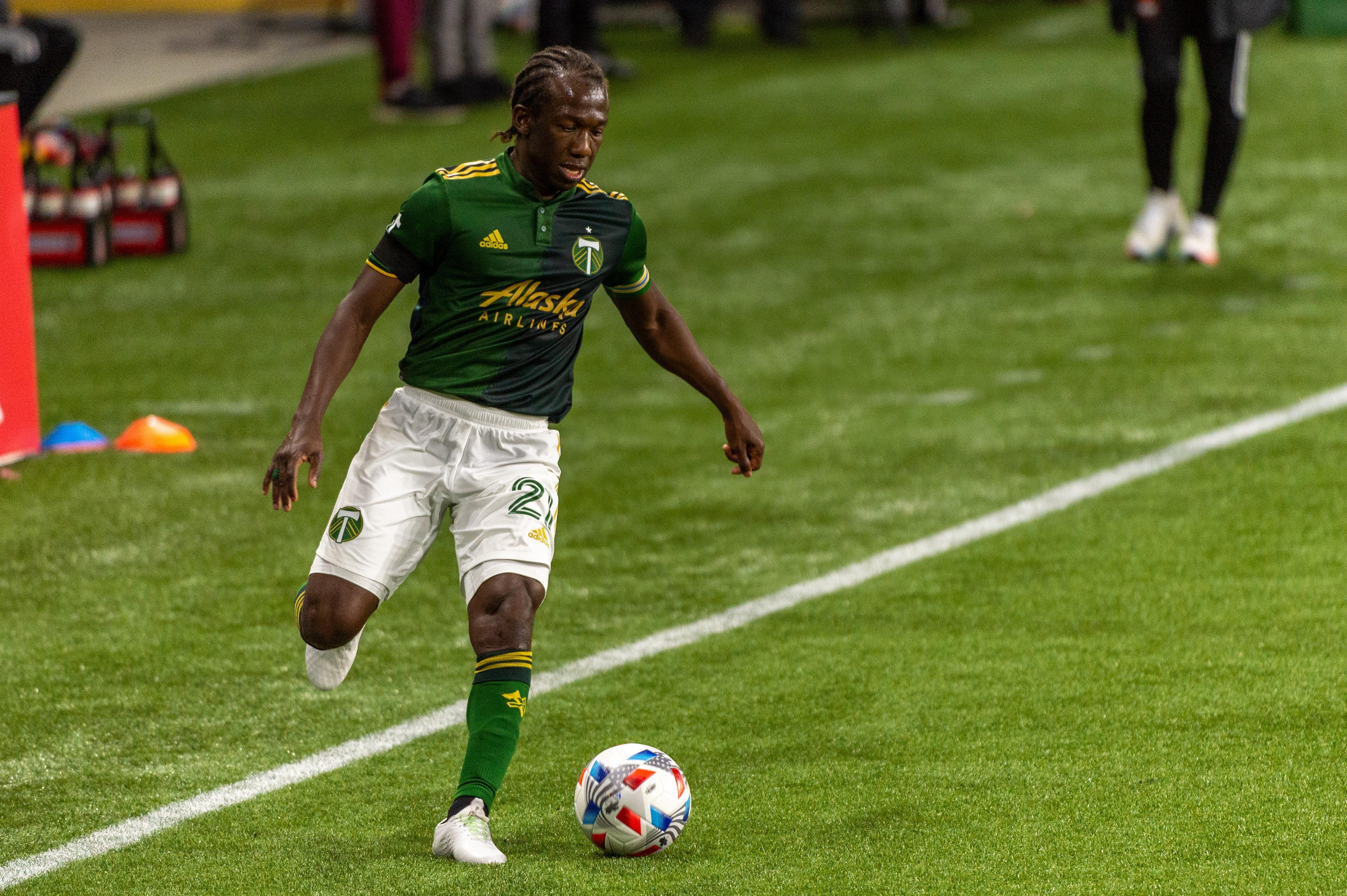 SOCCER: APR 24 MLS - Houston Dynamo FC at Portland Timbers