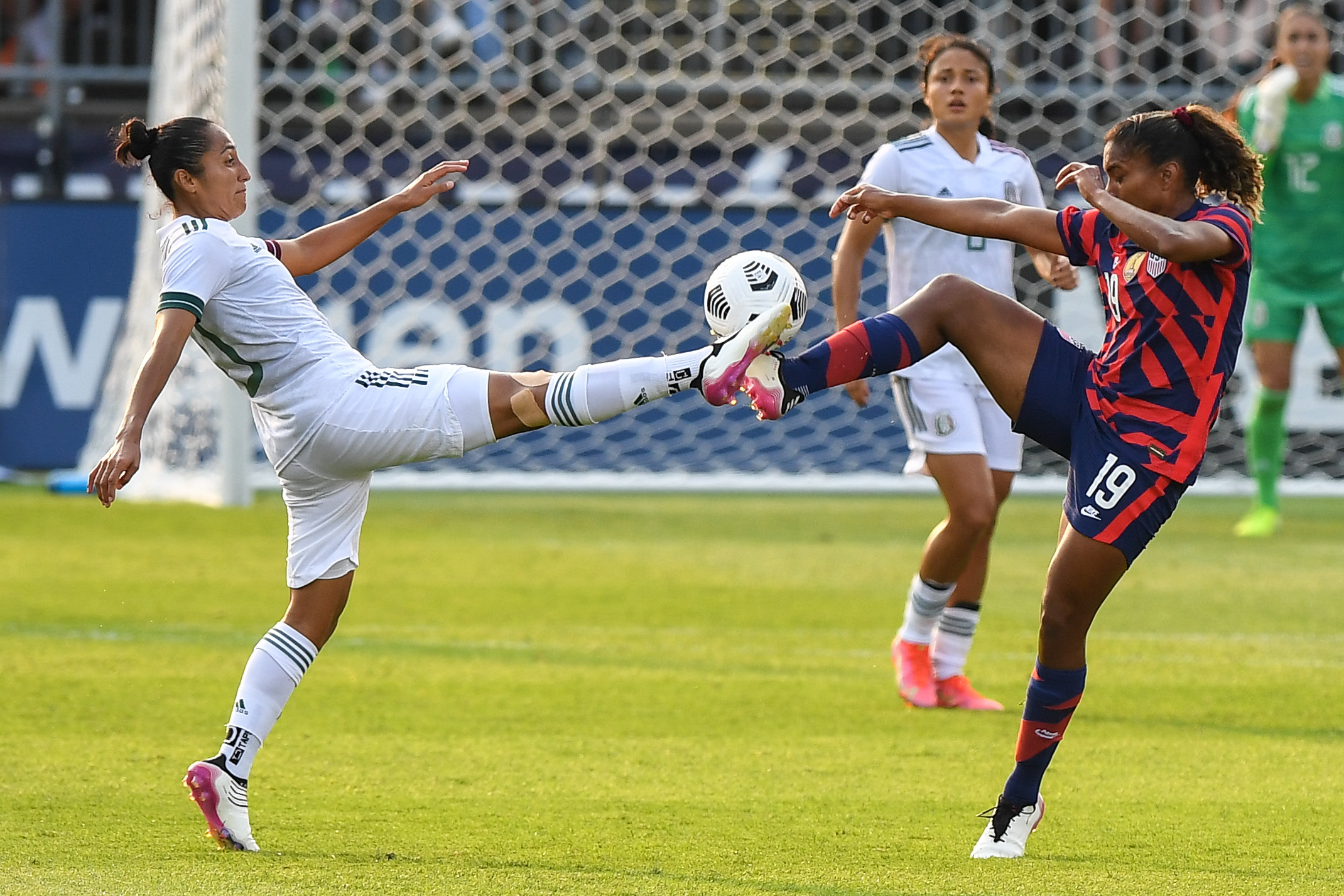 Soccer: 2021 U.S. Women's National Team Send-off Series-Mexico at USA