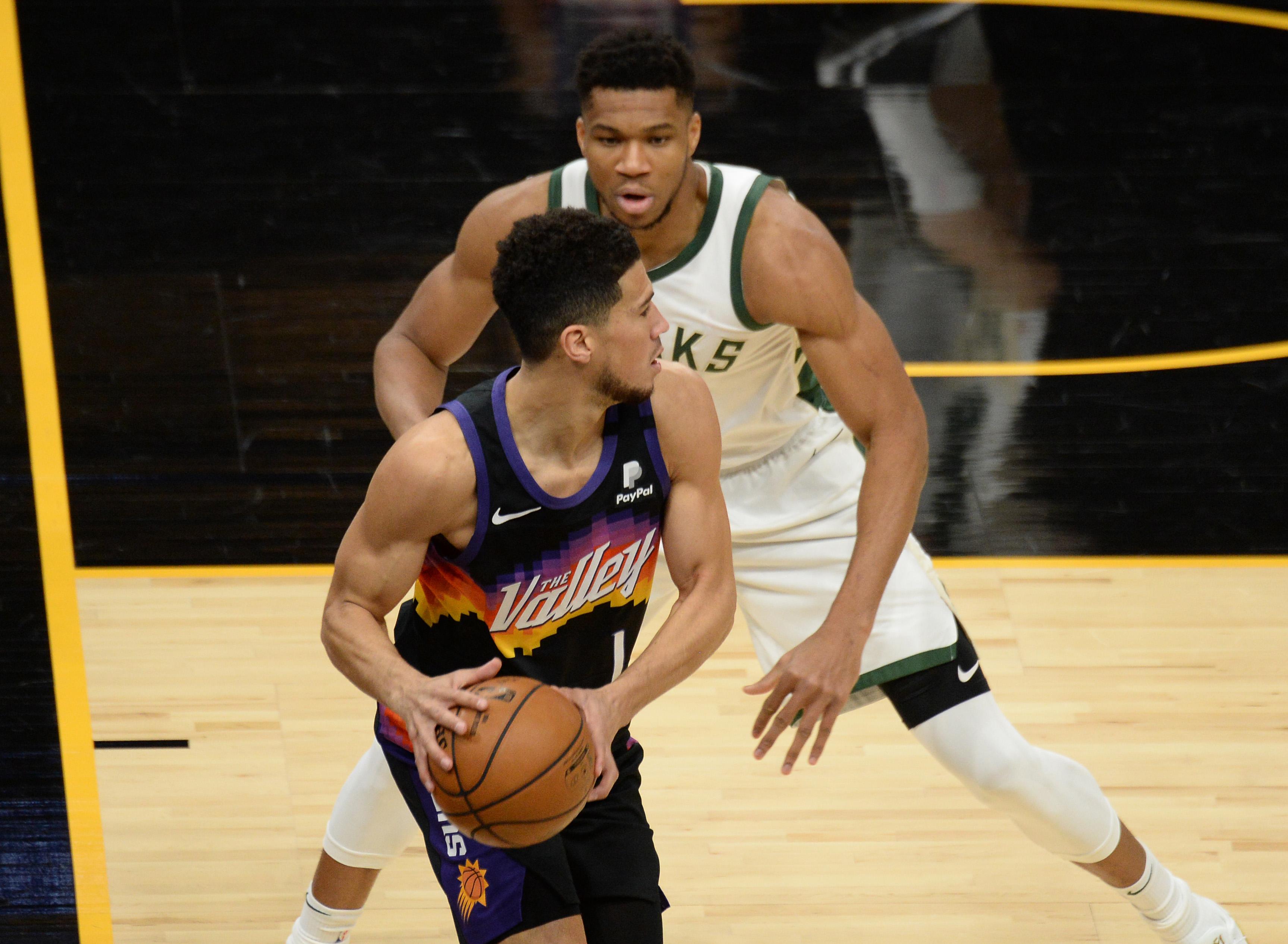 NBA: Milwaukee Bucks at Phoenix Suns