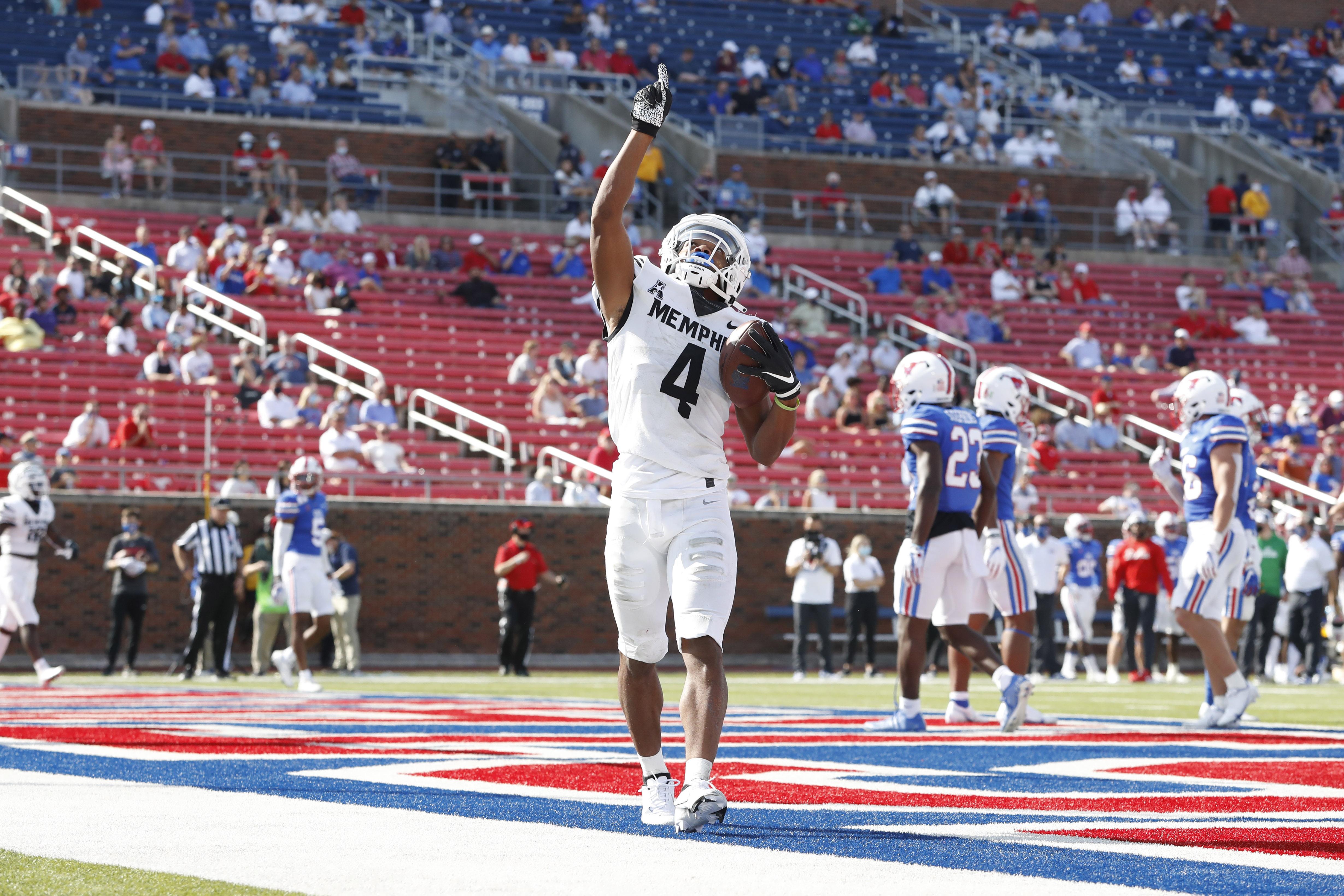 NCAA Football: Memphis at Southern Methodist