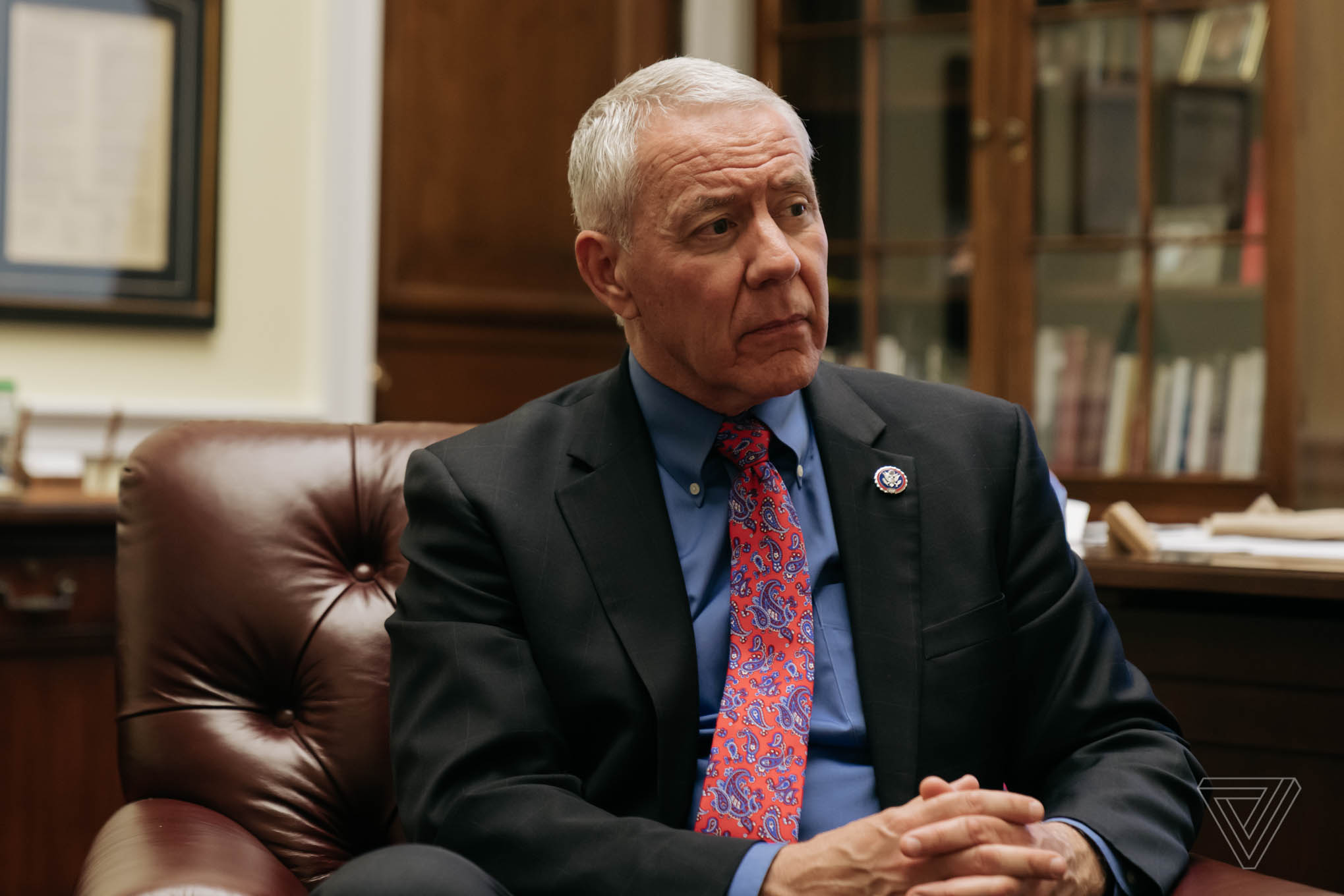 Congressman Ken Buck, R-Colo., at his office in the Rayburn Office Building in Washington, D.C., on June 30, 2021.