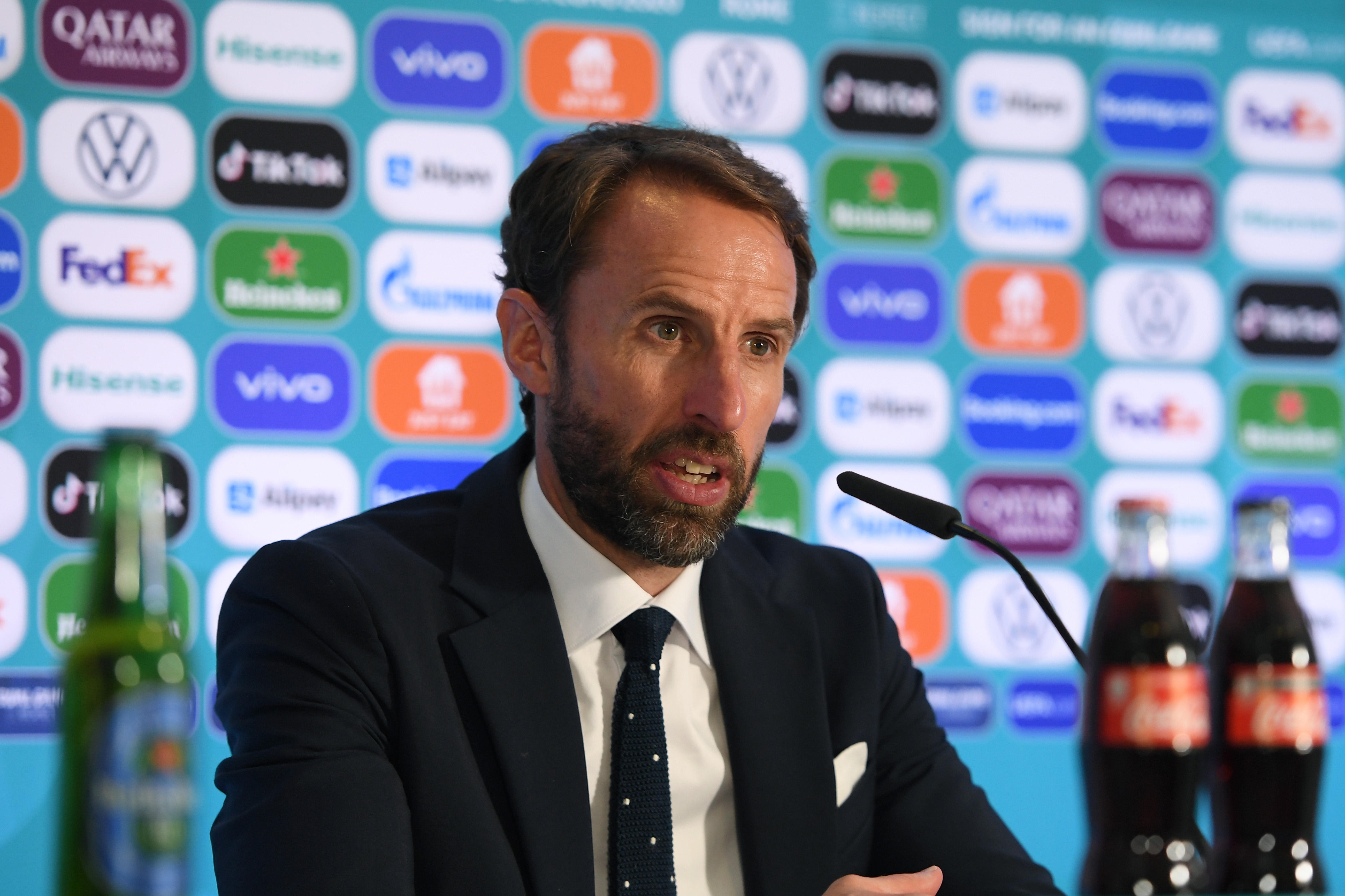 Gareth Southgate -England - UEFA Euro 2020