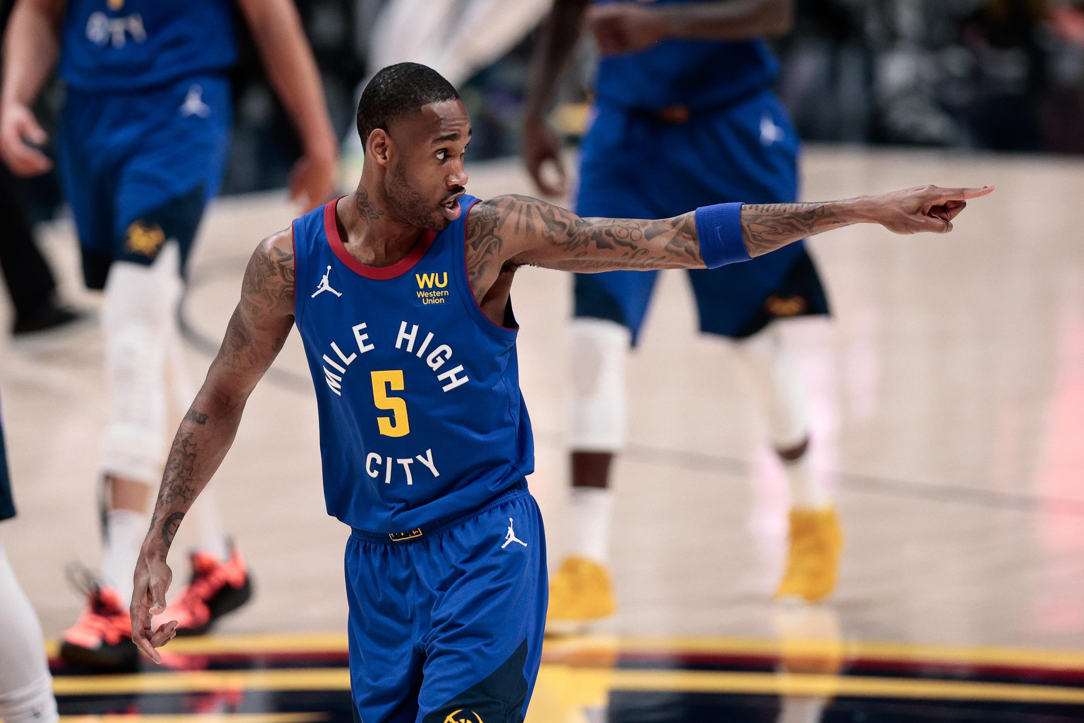 NBA: Playoffs-Phoenix Suns at Denver Nuggets