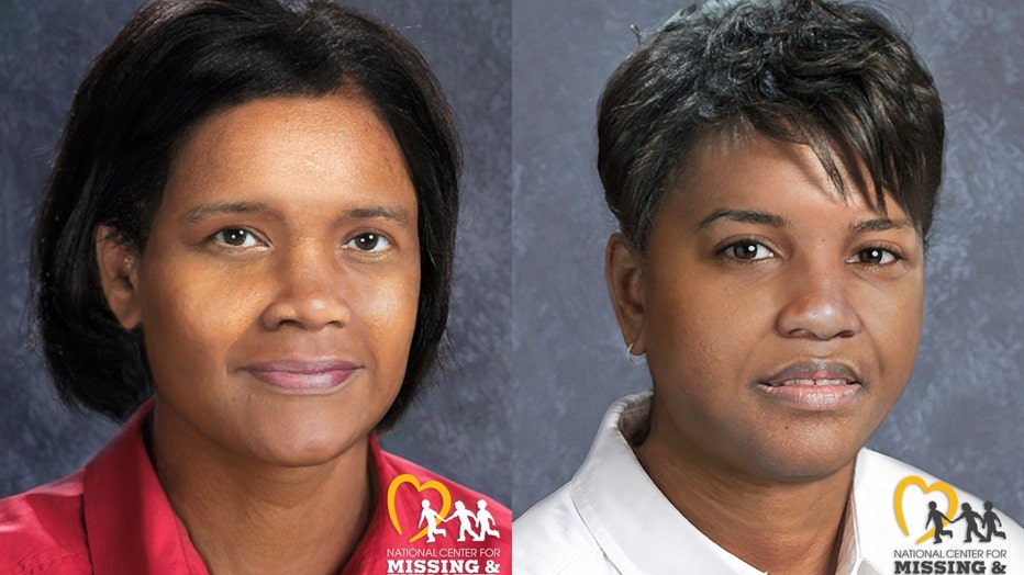 New photos of what Tionda Bradley (left) and Diamond Bradley might look like were released Tuesday. July 6, 2021