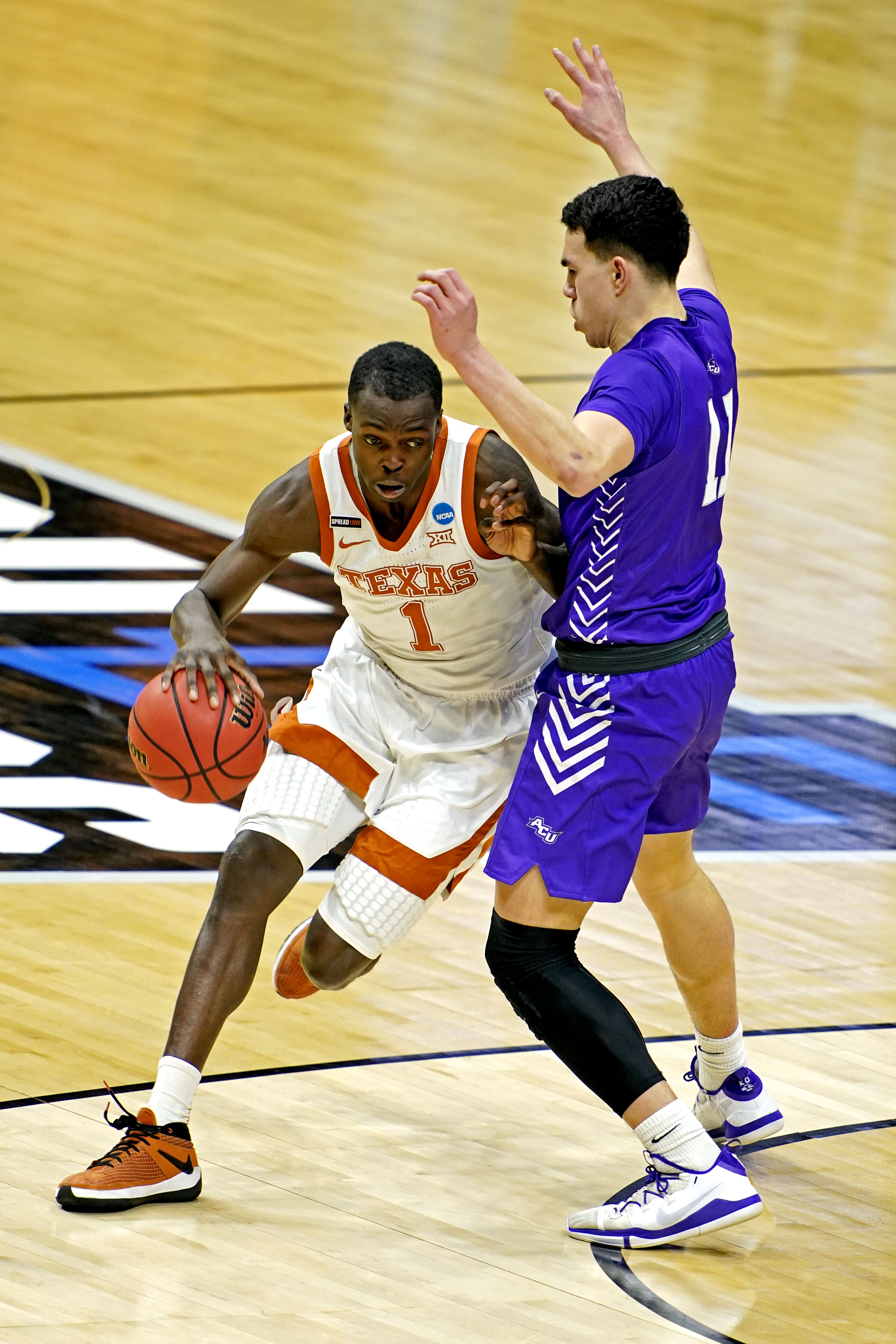 NCAA Basketball: NCAA Tournament-Abilene Christian at Texas