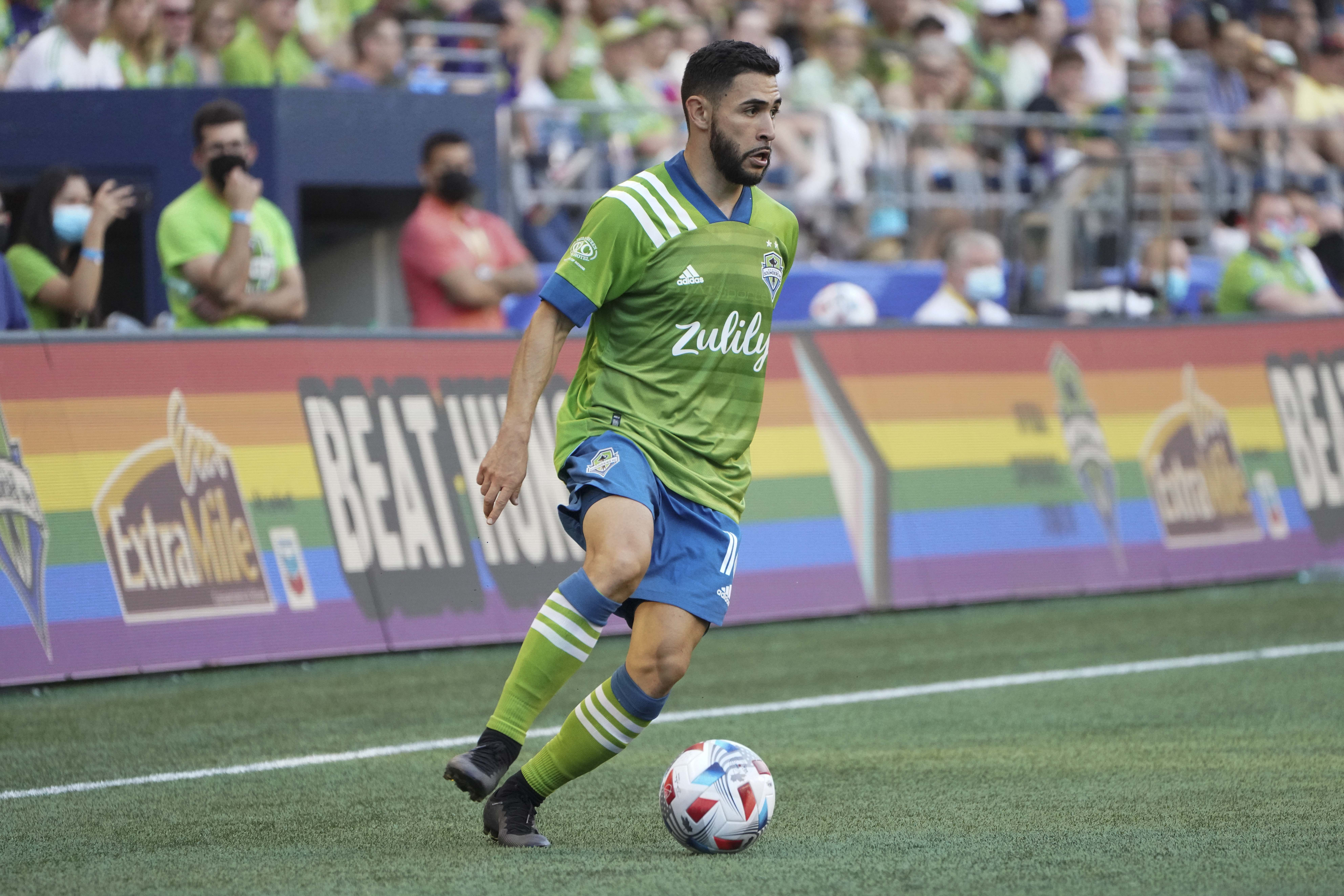 SOCCER: JUN 26 MLS - Vancouver Whitecaps at Seattle Sounders FC
