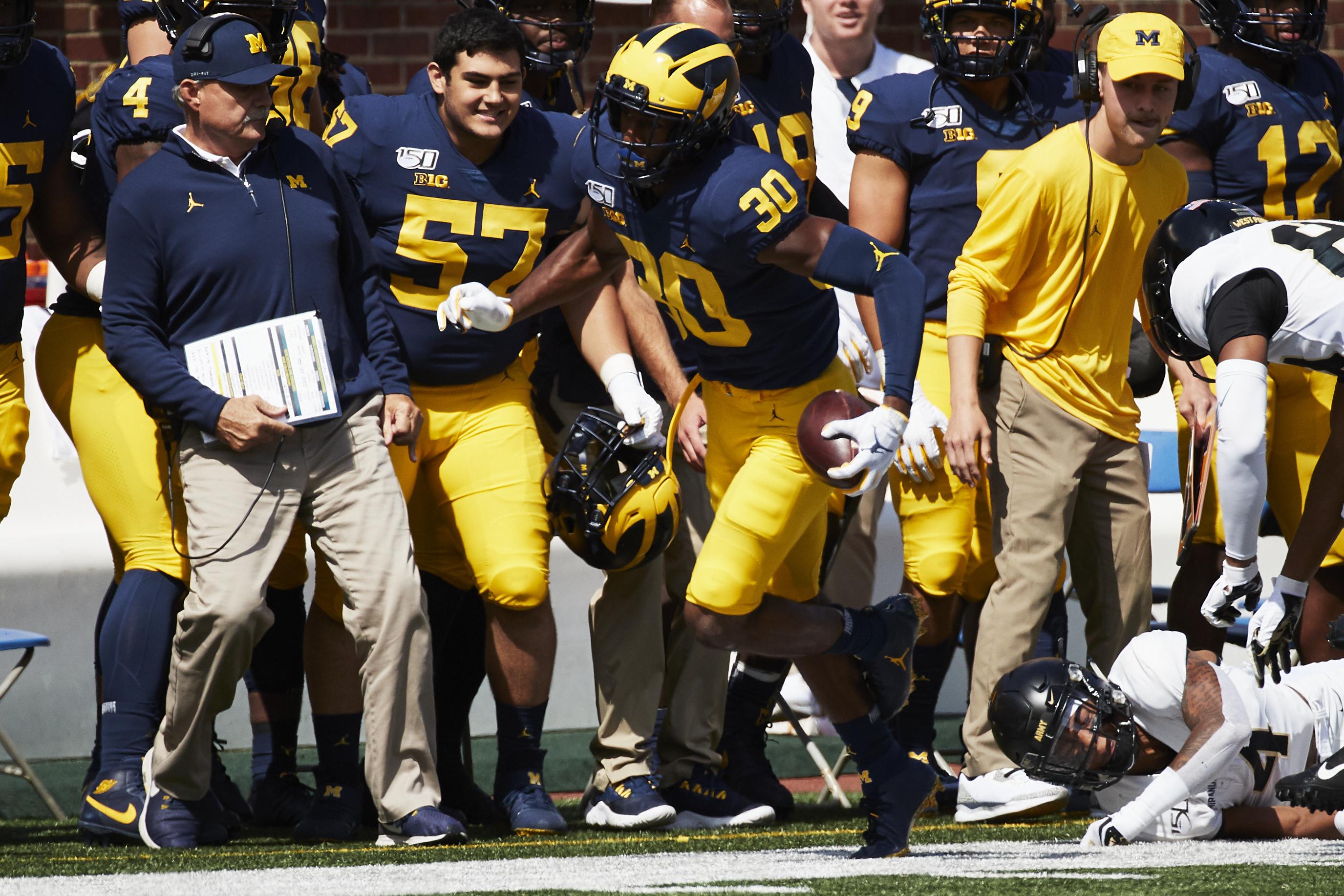 NCAA Football: Army at Michigan