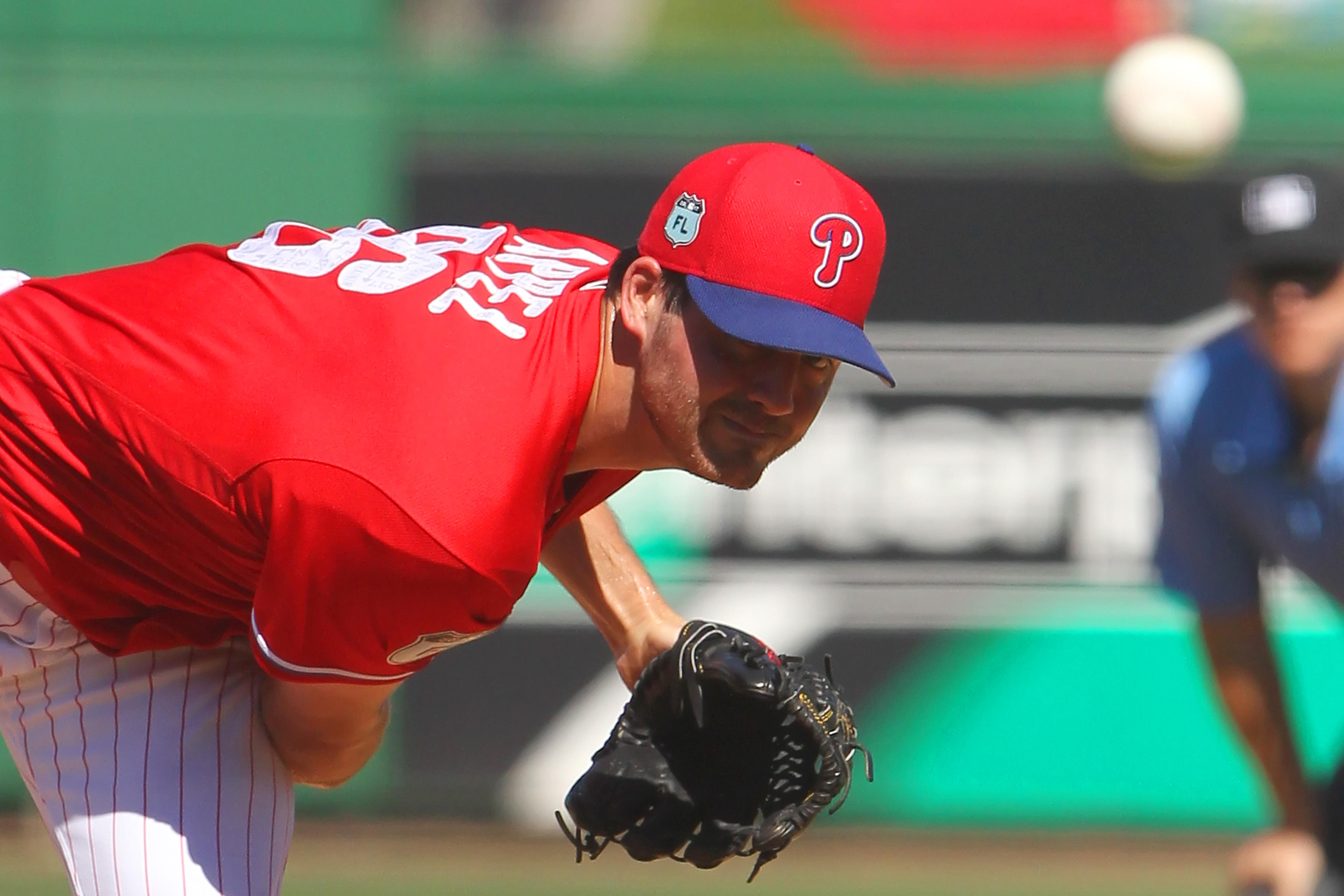 MLB: FEB 25 Spring Training - Yankees at Phillies