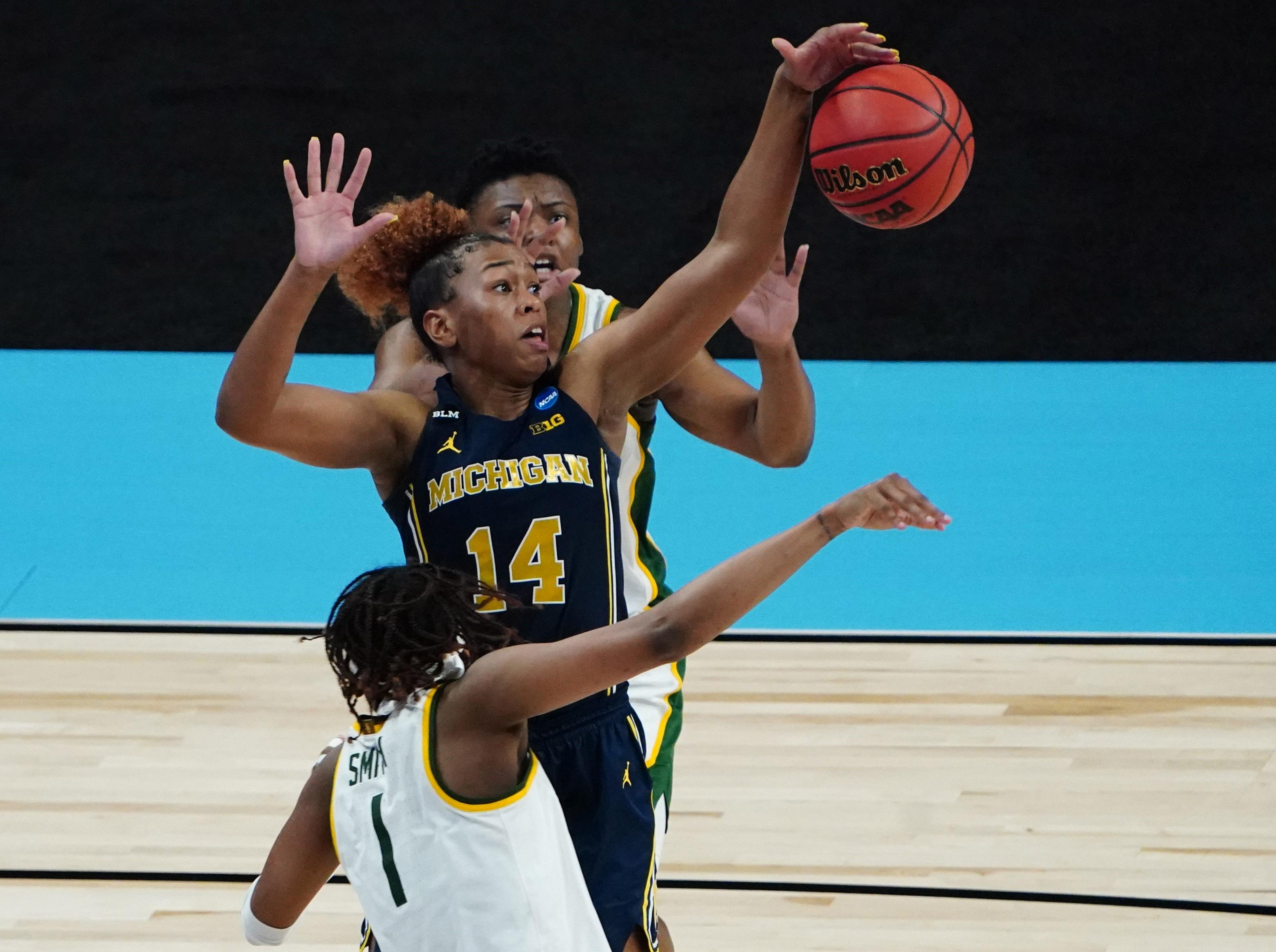 NCAA Womens Basketball: Sweet Sixteen-Michigan at Baylor