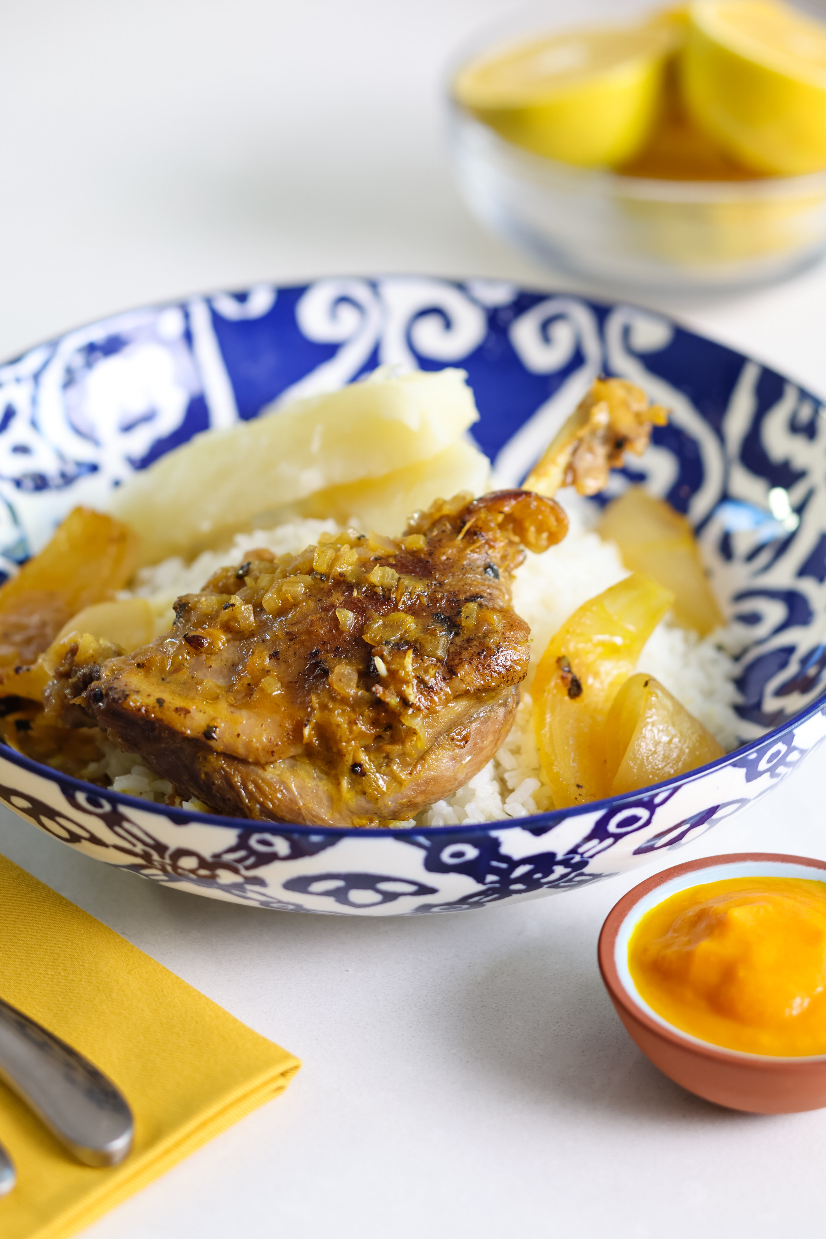 A dish from Birú Cocina Peruana