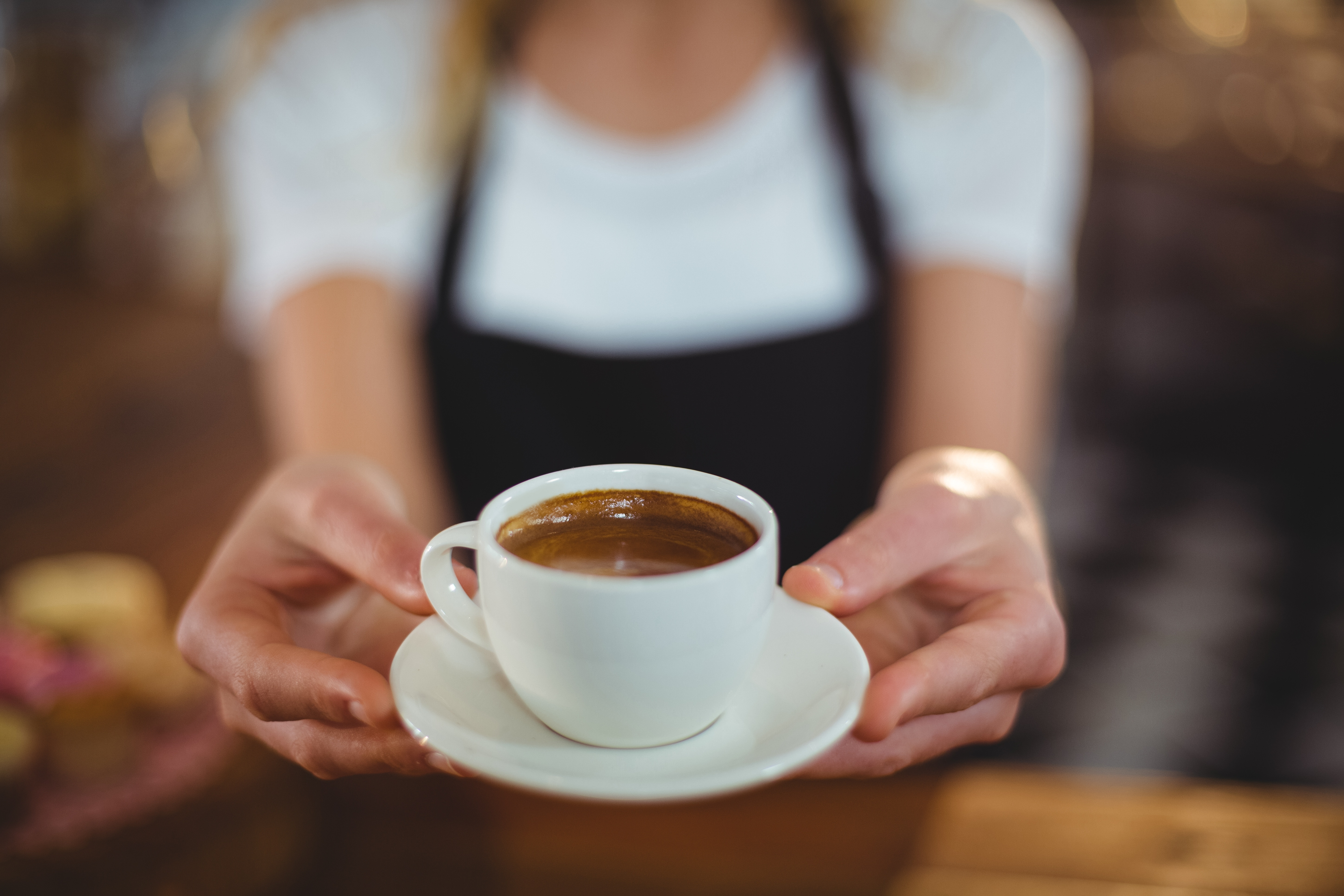 A new study suggests that drinkingthree to four cups of coffee a day might helpreduce your risk ofliver cancer.