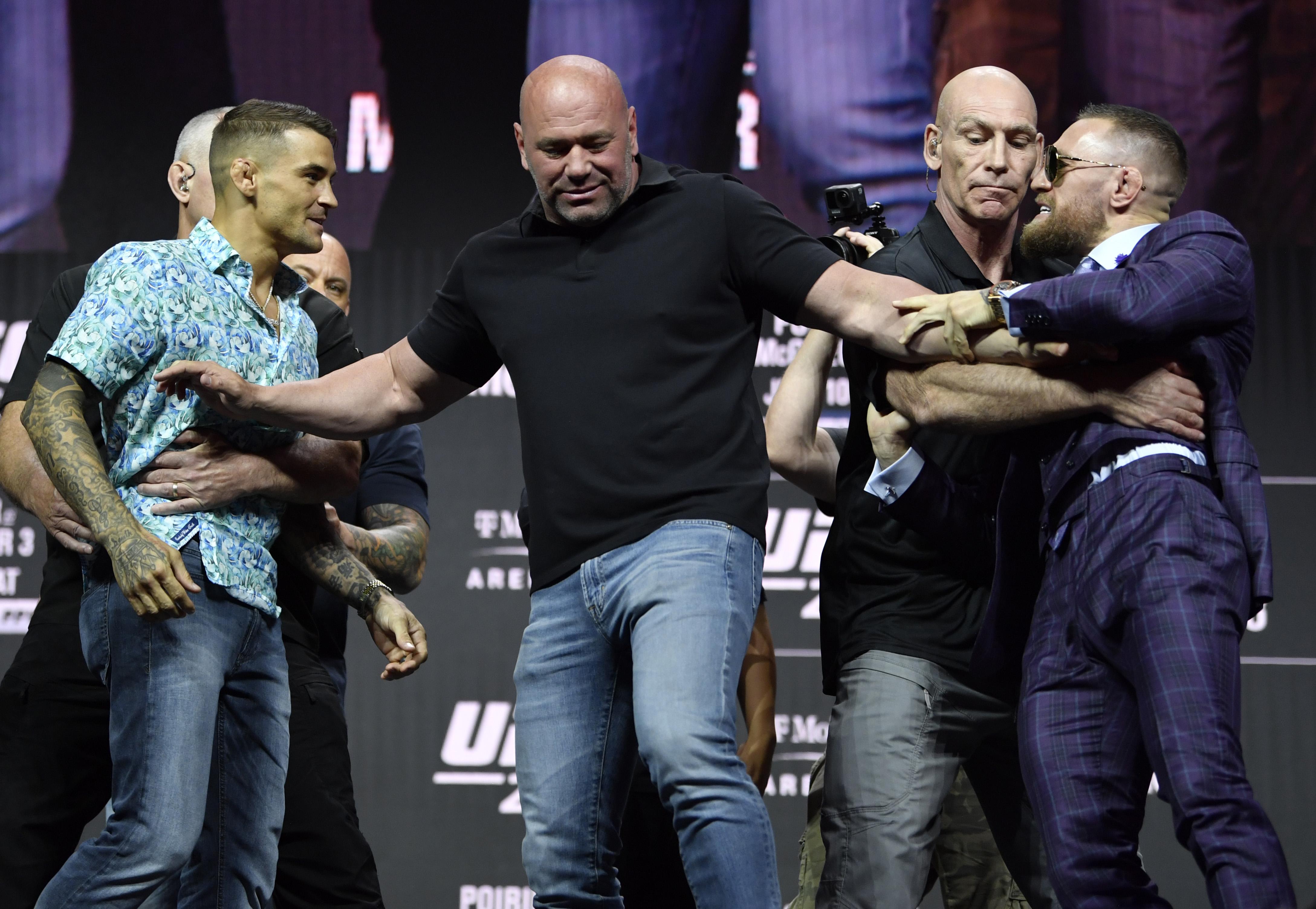 UFC 264 Press Conference: Dustin Poirier vs. Conor McGregor 3