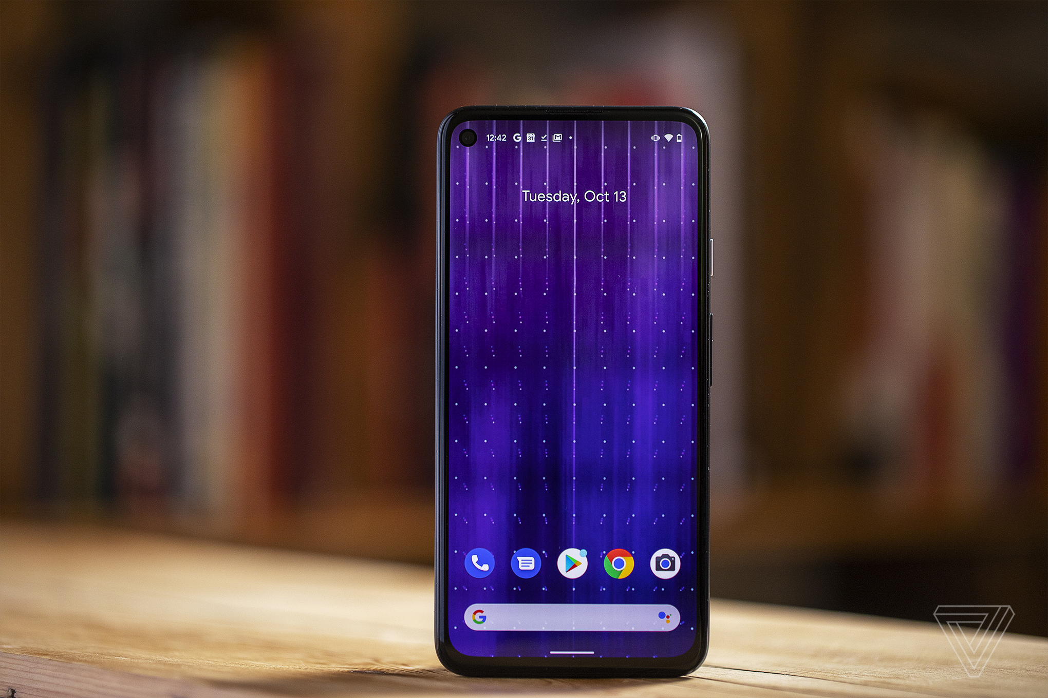The Pixel 4A 5G.