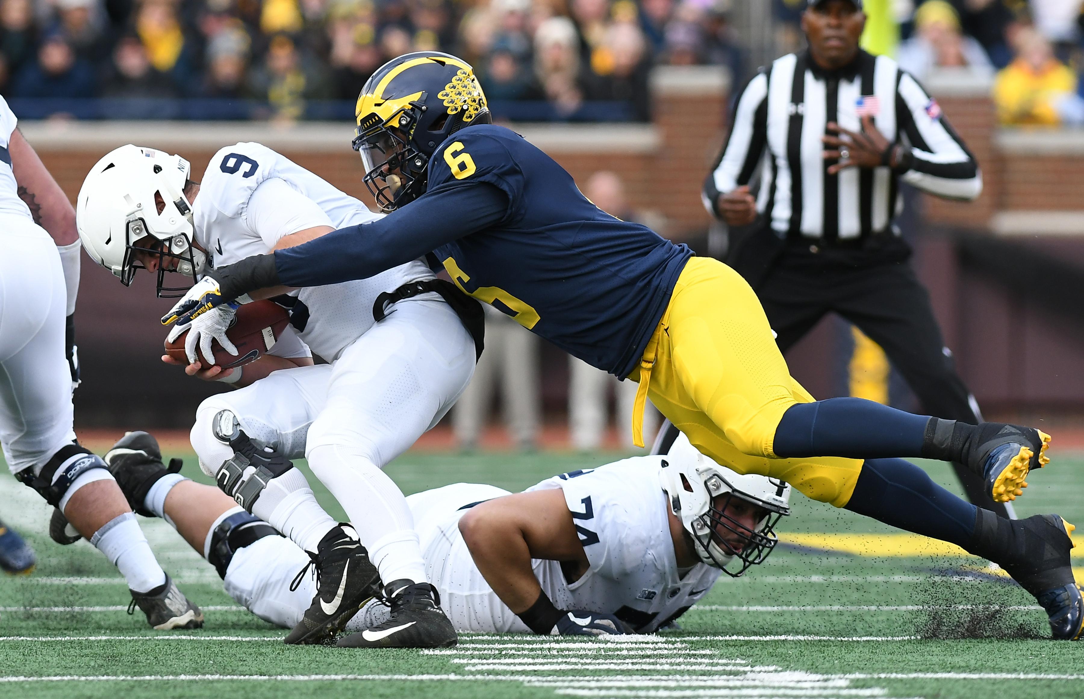 COLLEGE FOOTBALL: NOV 03: Penn State at Michigan