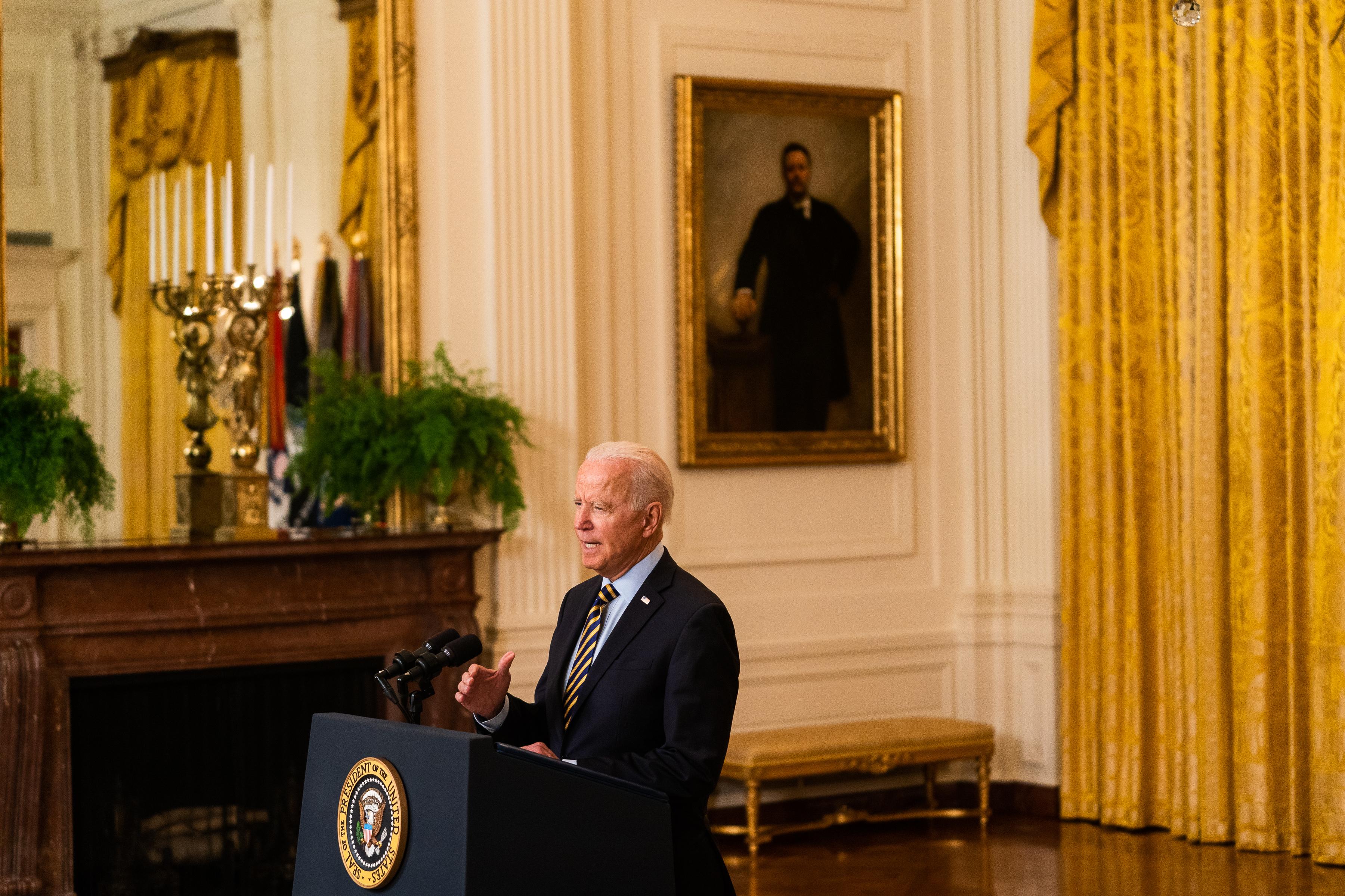 President Joe Biden Afghanistan drawdown