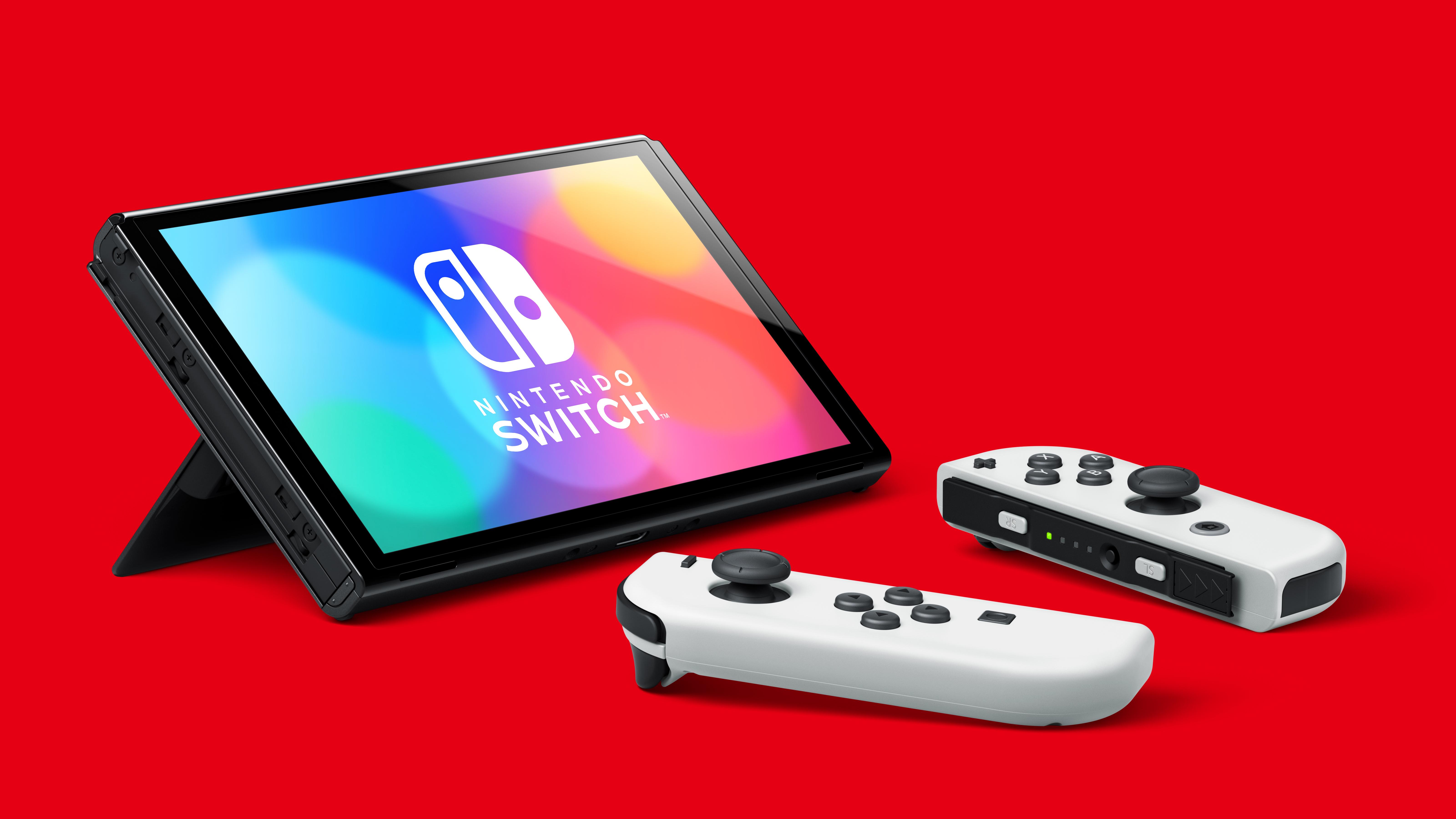 The new Nintendo Switch OLED model