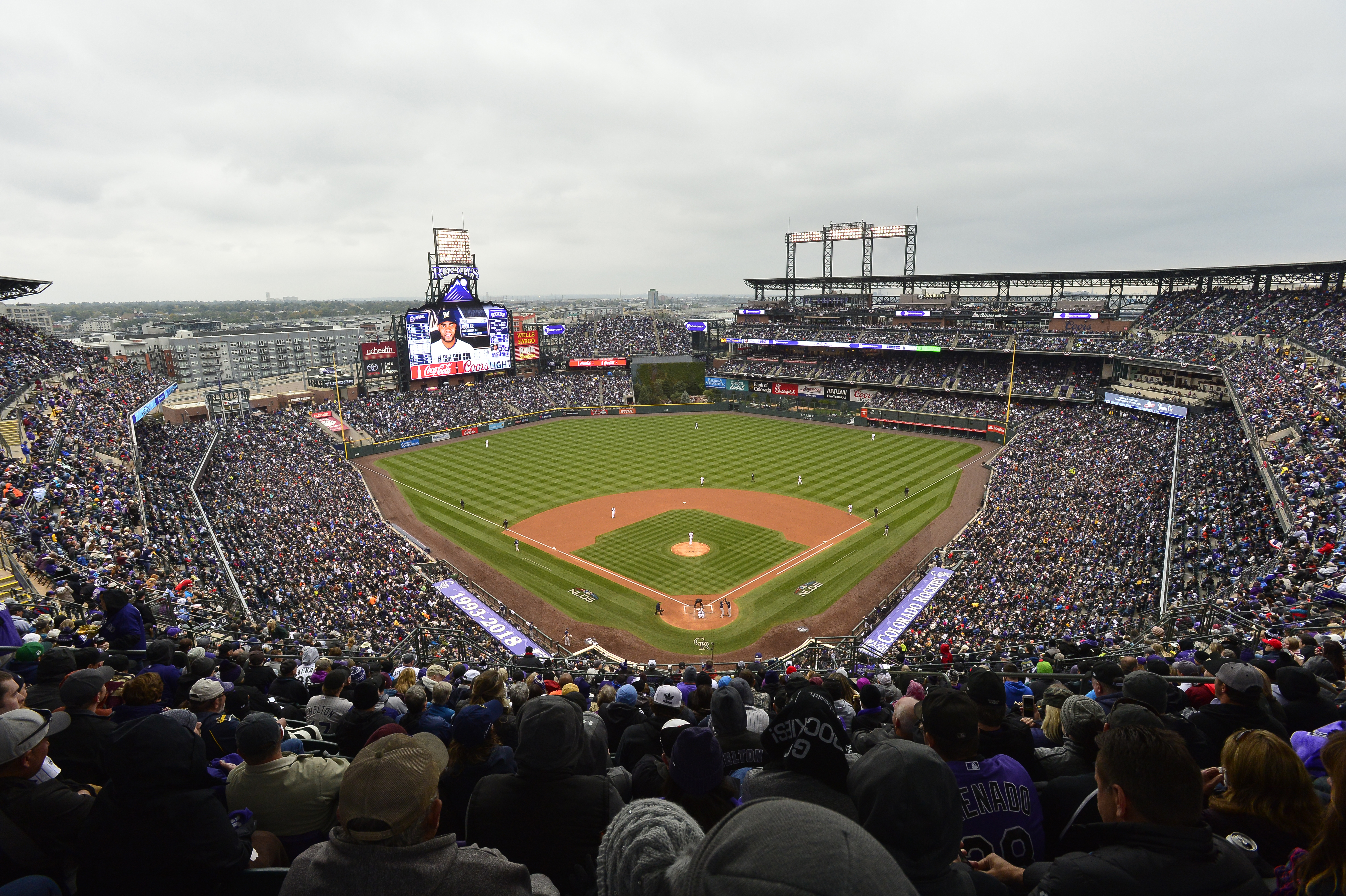 National League Division Series Game 3: Milwaukee Brewers v. Colorado Rockies