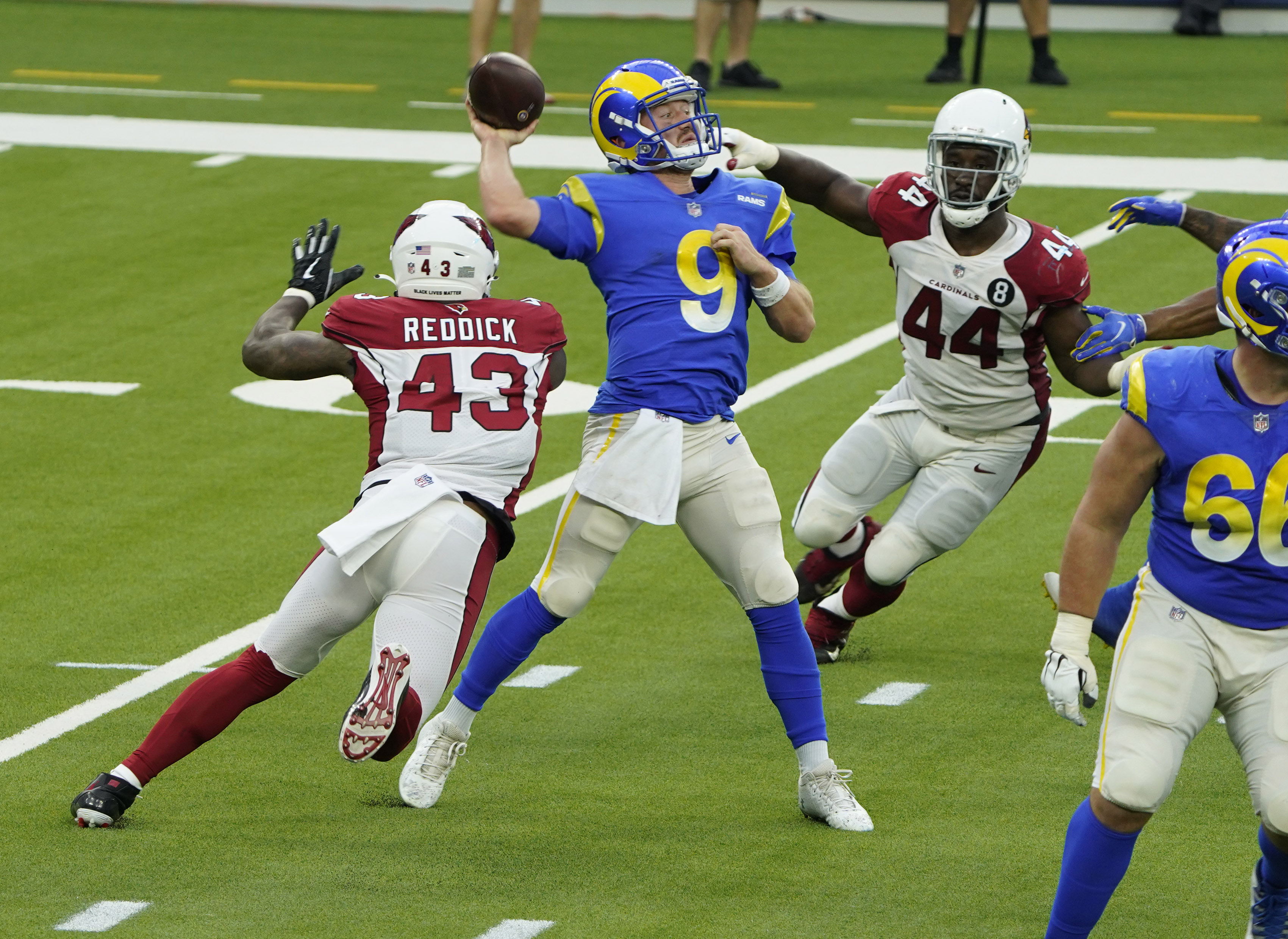 NFL: JAN 03 Cardinals at Rams