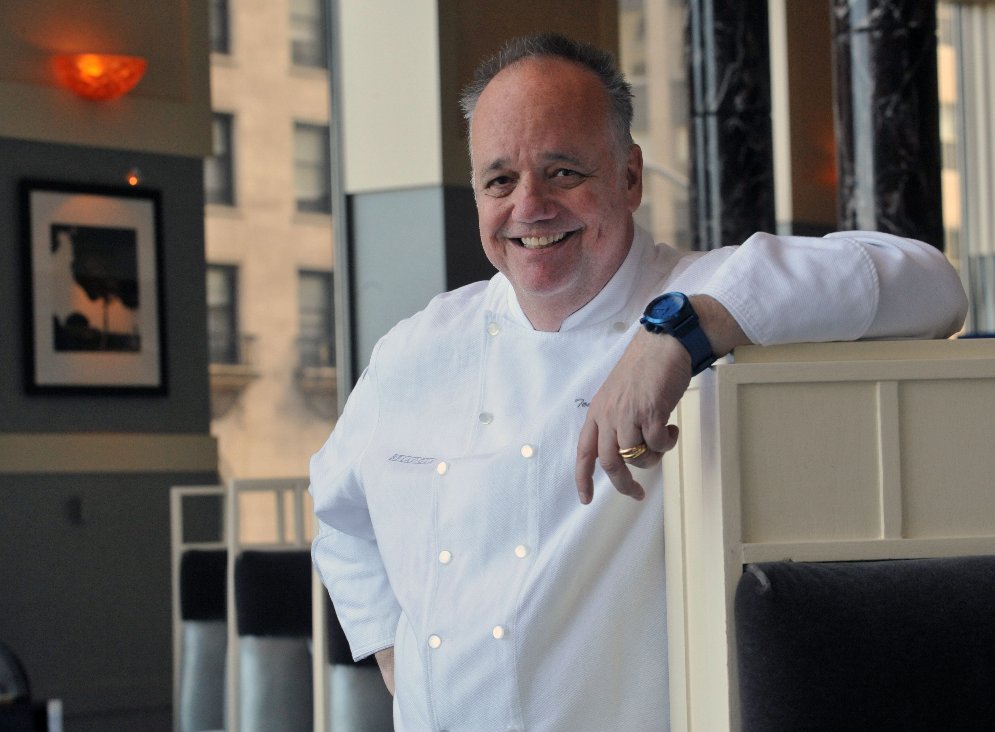 For nearly 40 years,  Chef Tony Mantuano elevated Italian cuisine to new heights at Spiaggia restaurant in Chicago.