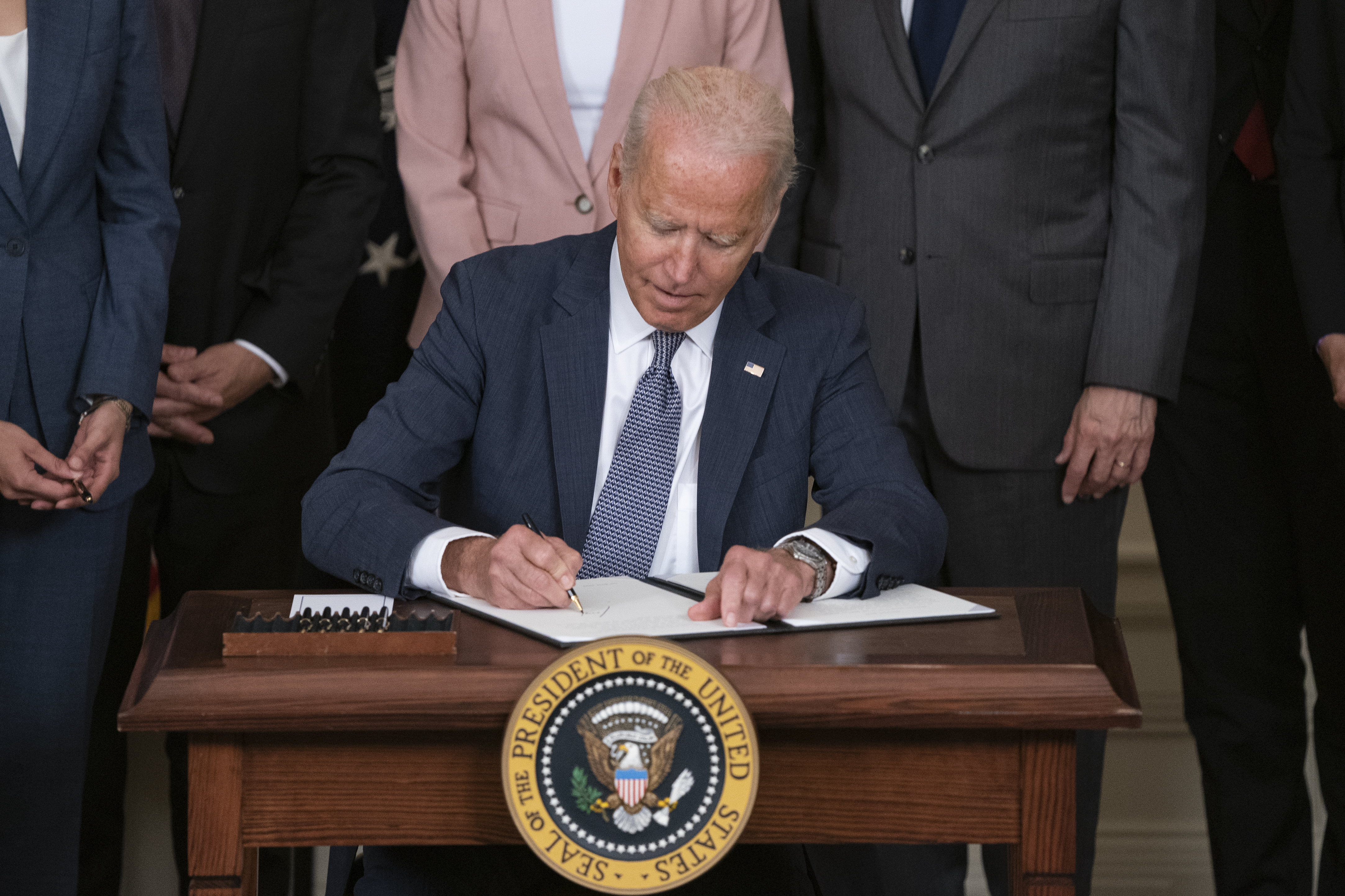 President Biden Delivers Remarks On Promoting American Economy Competition
