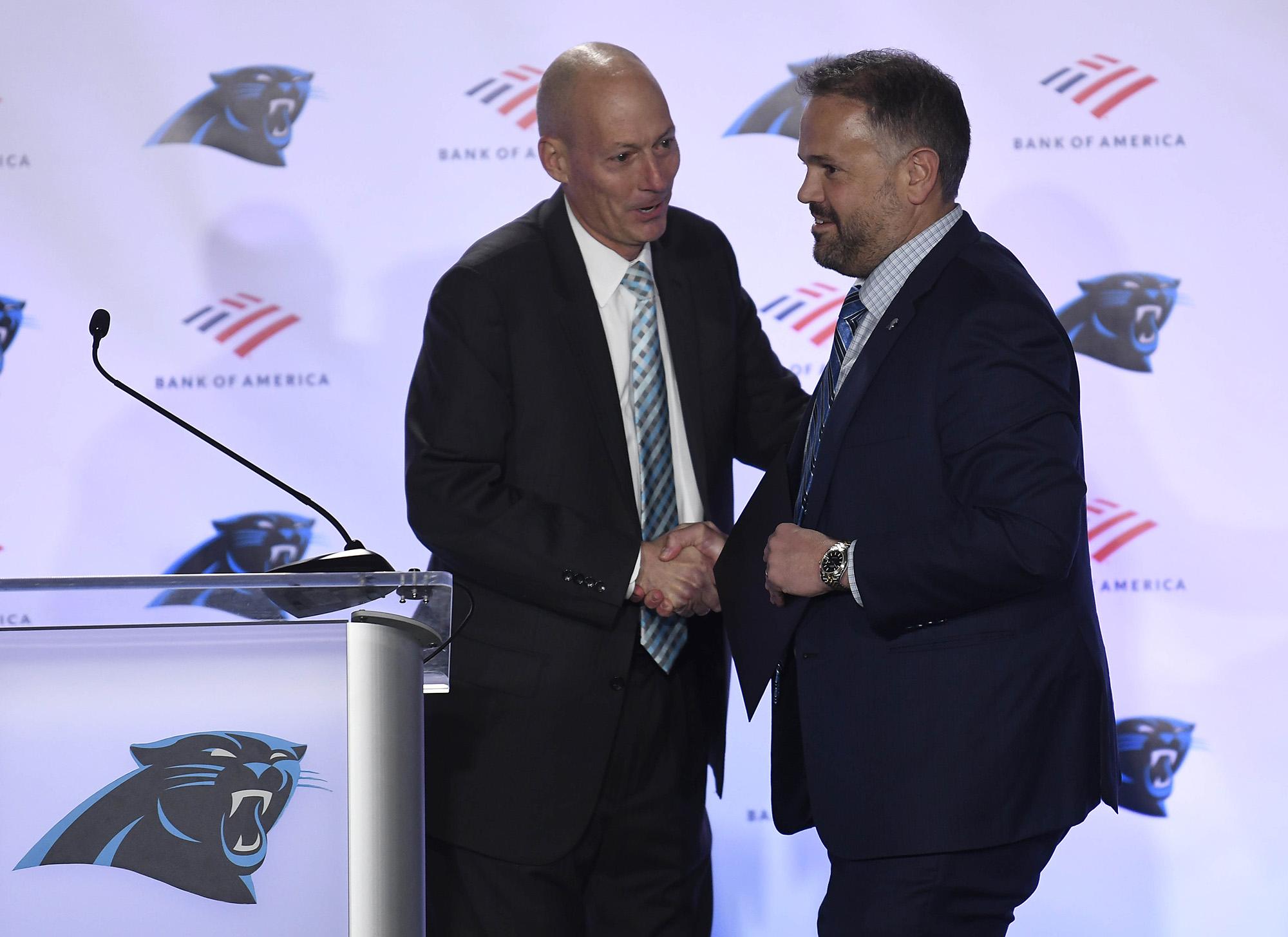 Carolina Panthers introduce head coach Matt Rhule
