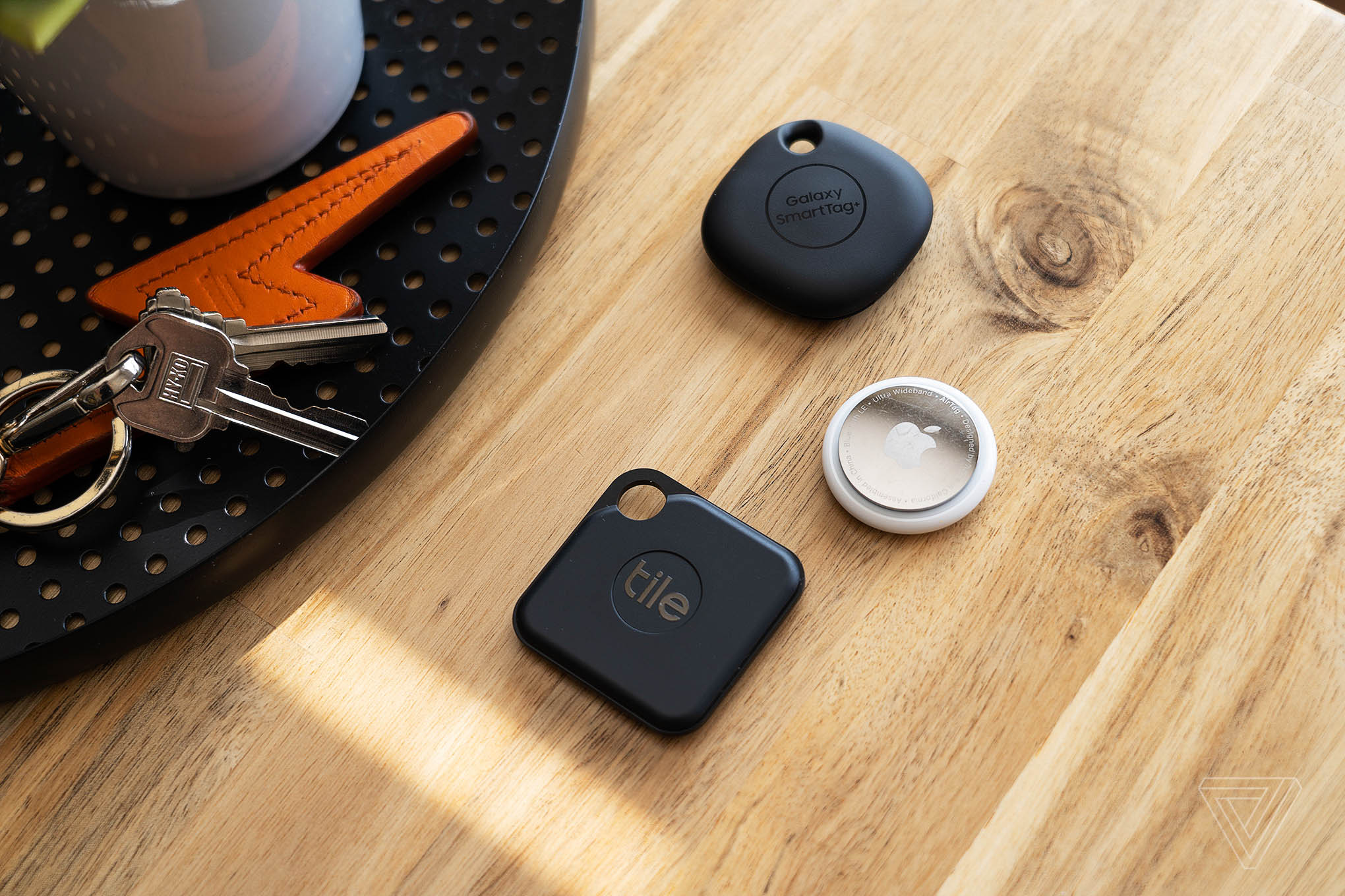 Apple, Tile, and Samsung all offer smart Bluetooth trackers.