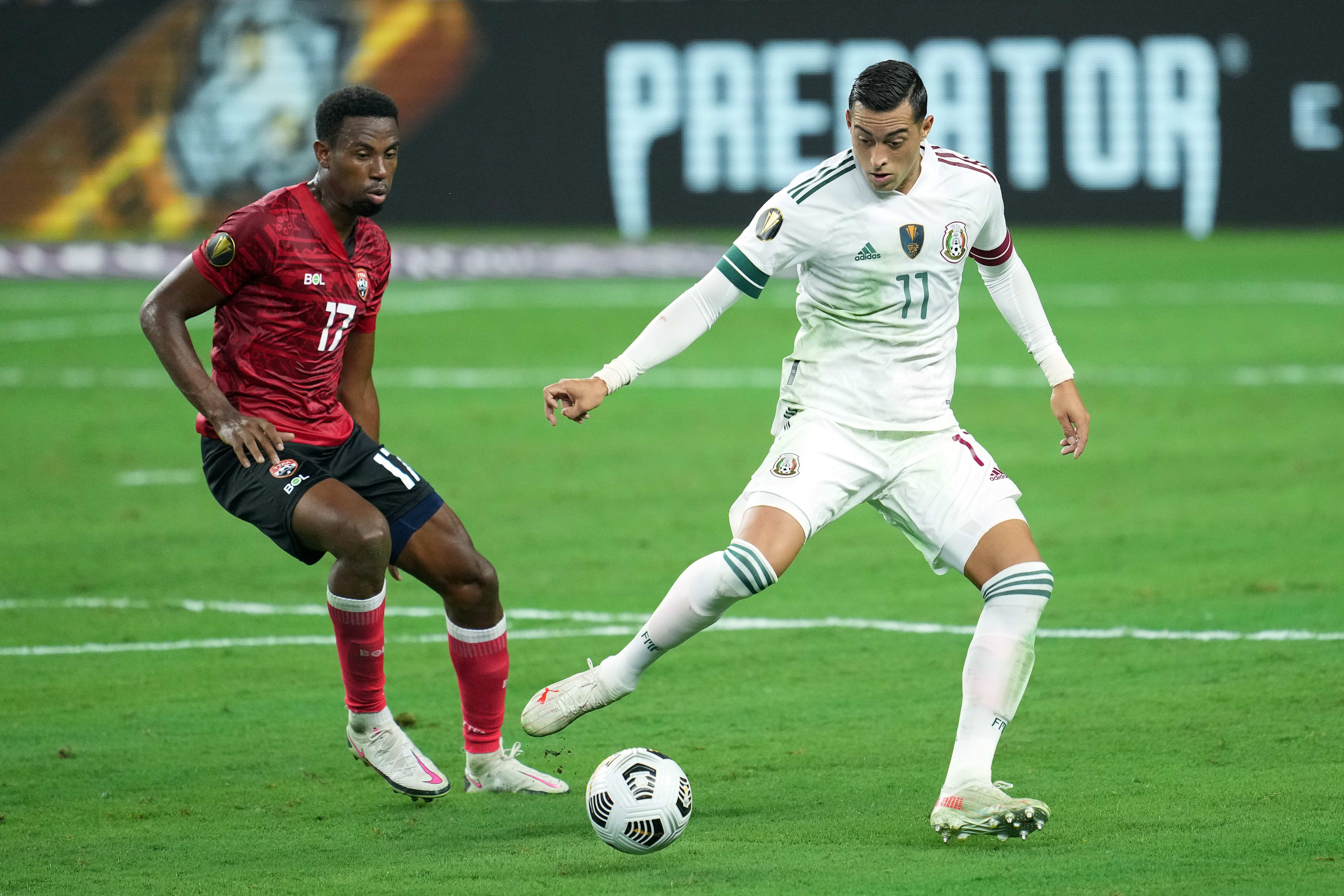 SOCCER: JUL 10 Concacaf Gold Cup - Mexico v Trinidad & Tobago
