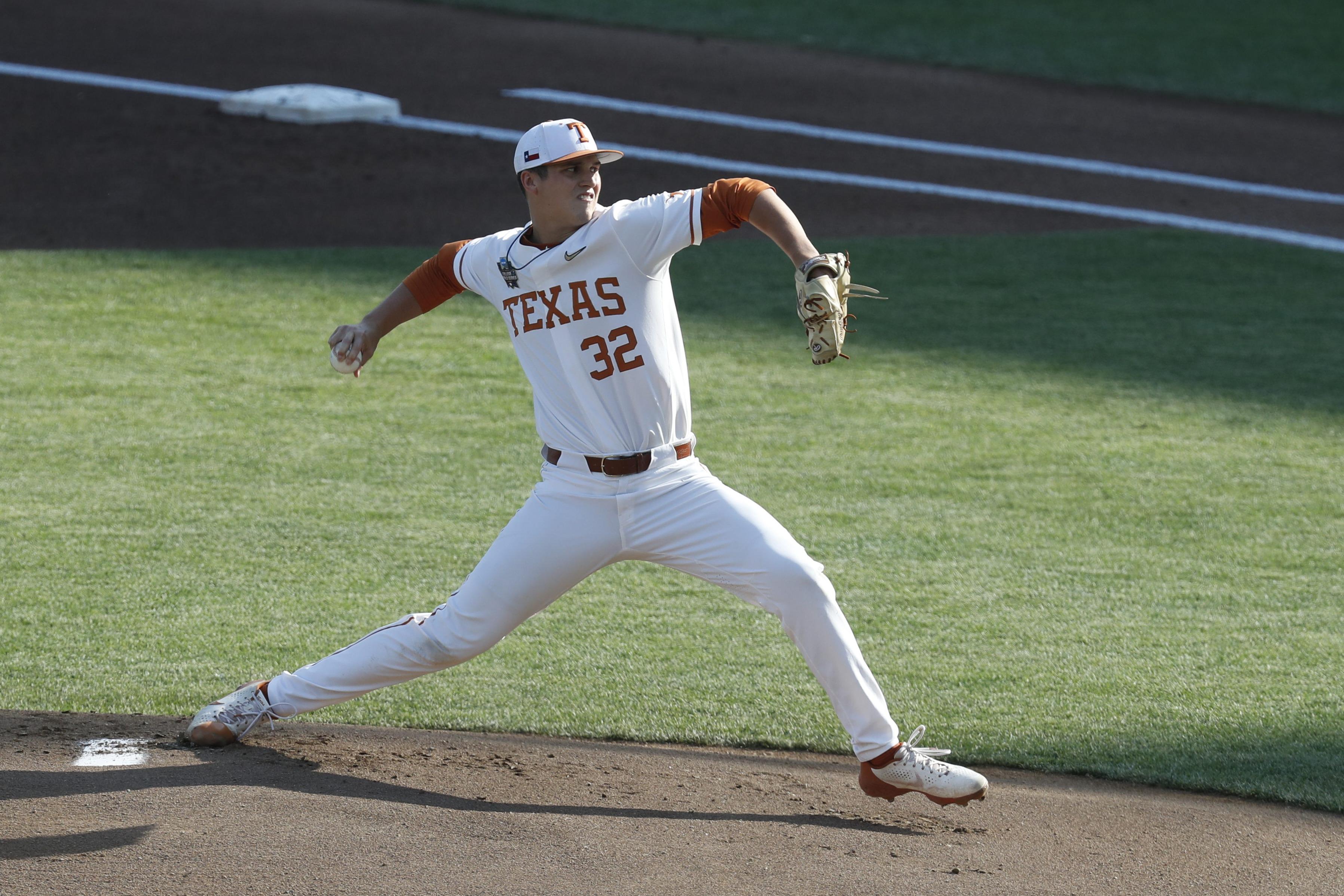 NCAA Baseball: College World Series-Mississippi State v Texas