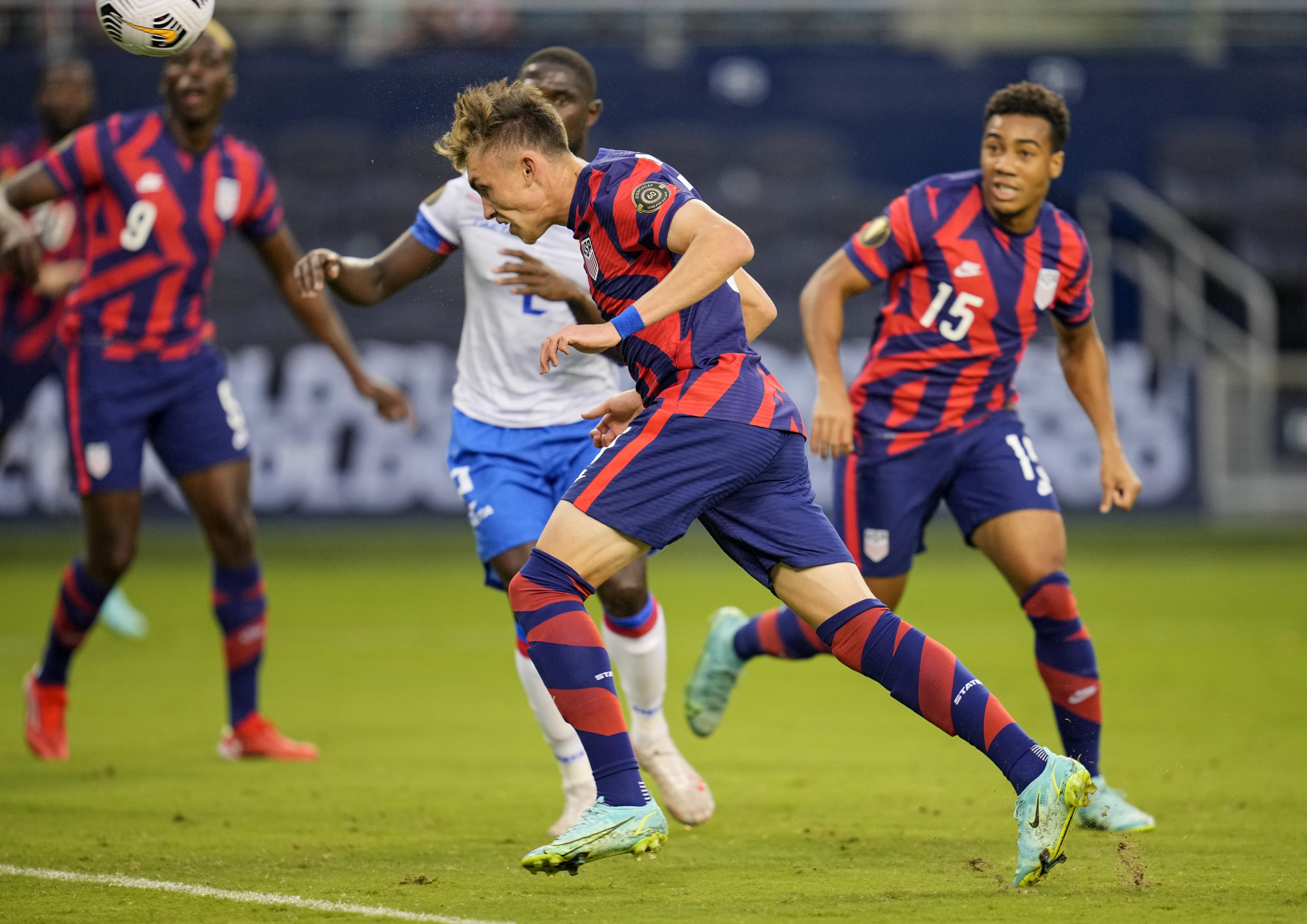 Soccer: CONCACAF Gold Cup Soccer-USA at TBD