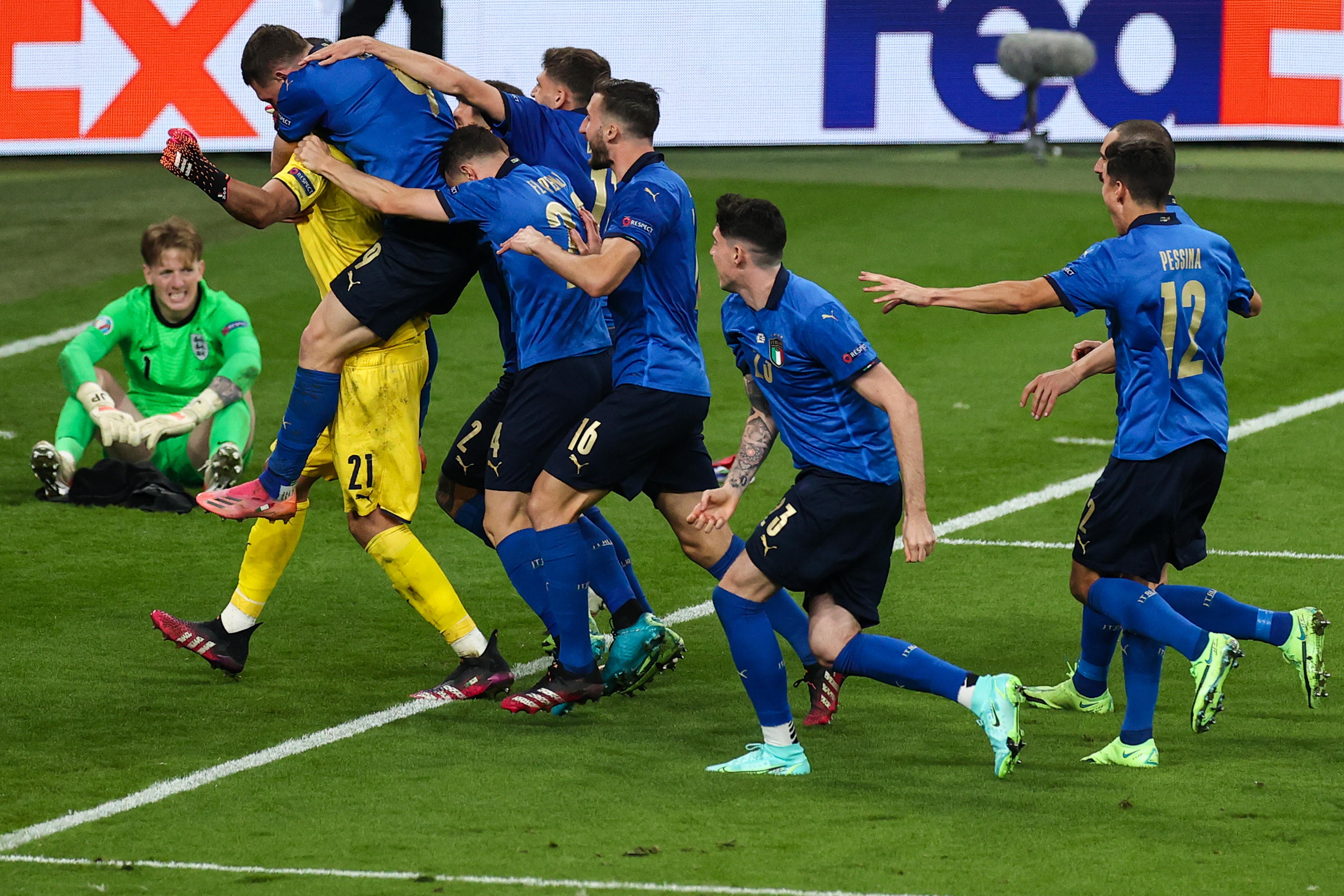 Italy - England