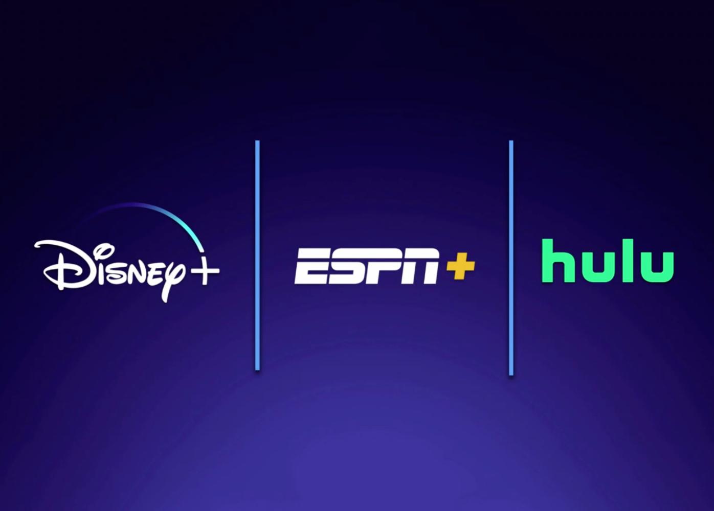 Disney Plus ESPN Plus Hulu bundle