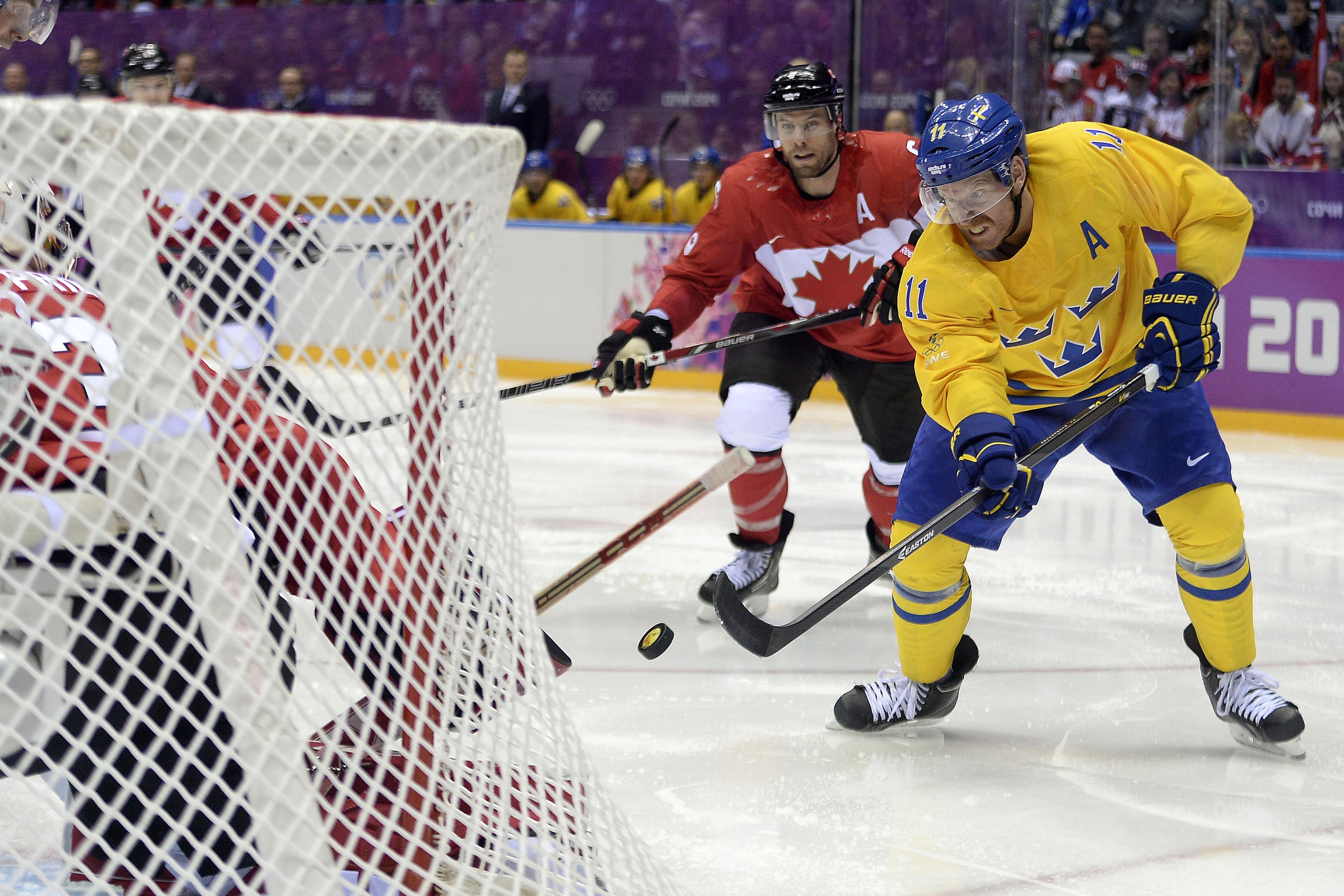 Sochi 2014 Winter Olympics Men's Ice Hockey Gold Medal Canada vs Sweden