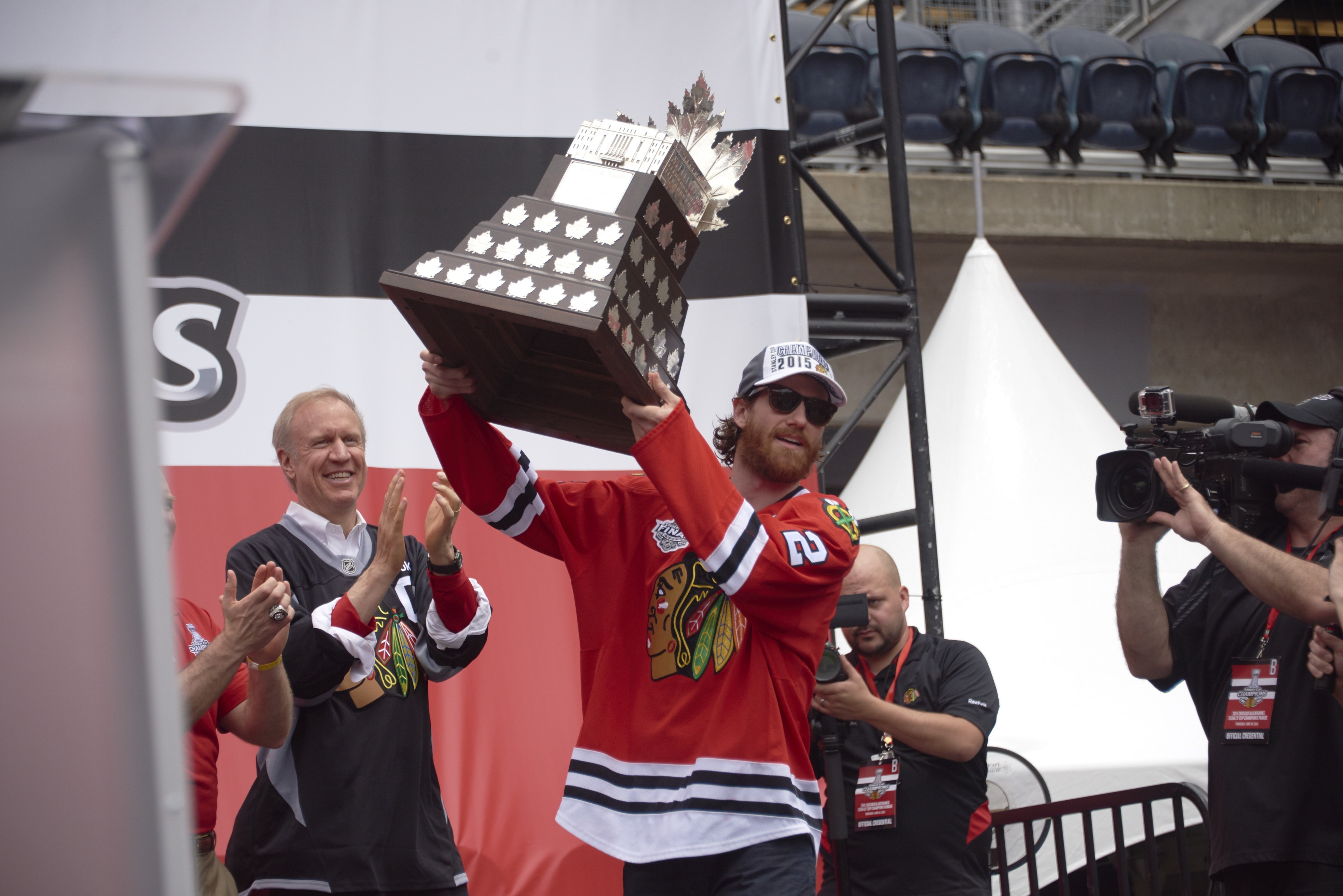 Chicago Blackhawks Victory Parade, 2015 NHL Stanley Cup Finals