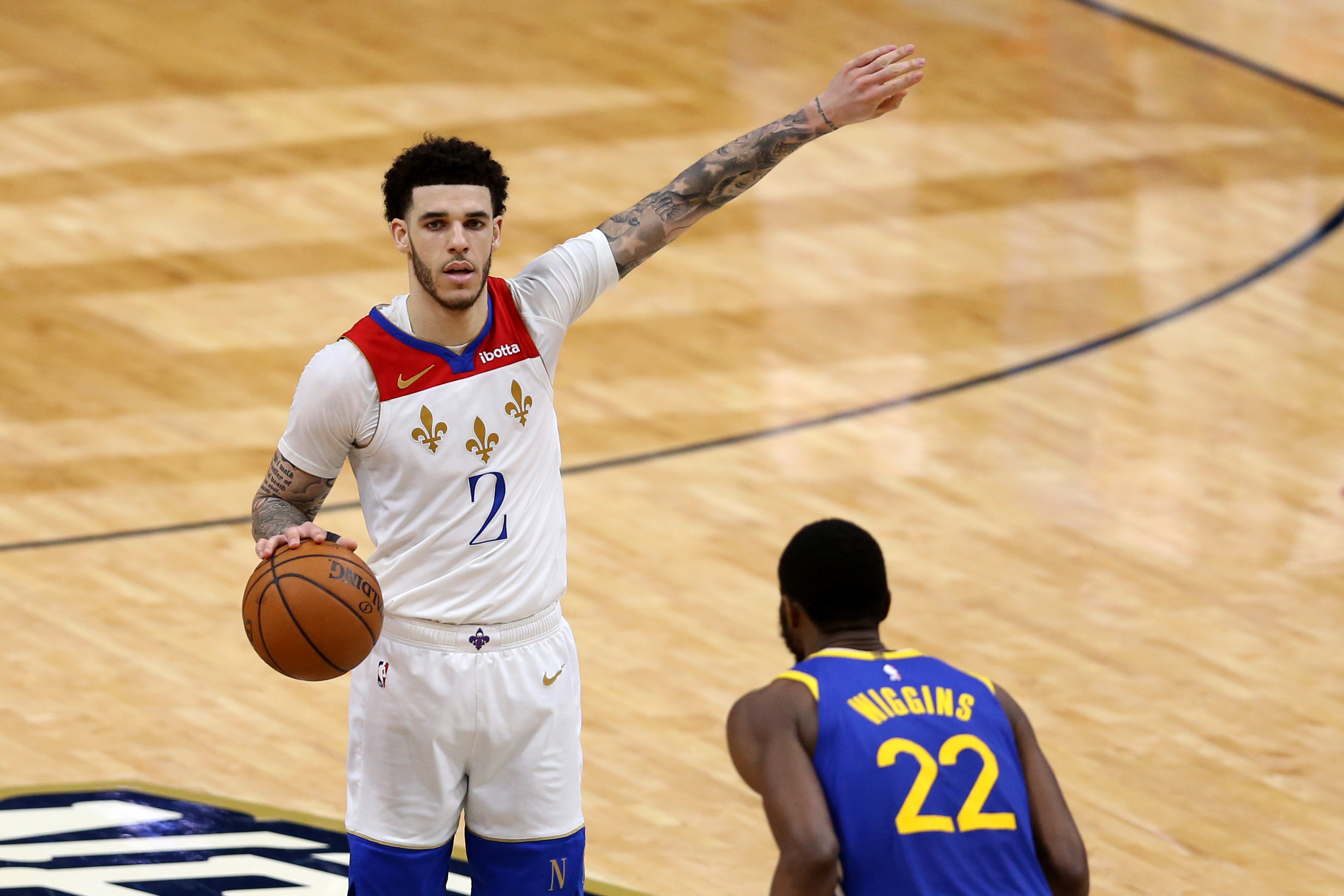 NBA: Golden State Warriors at New Orleans Pelicans