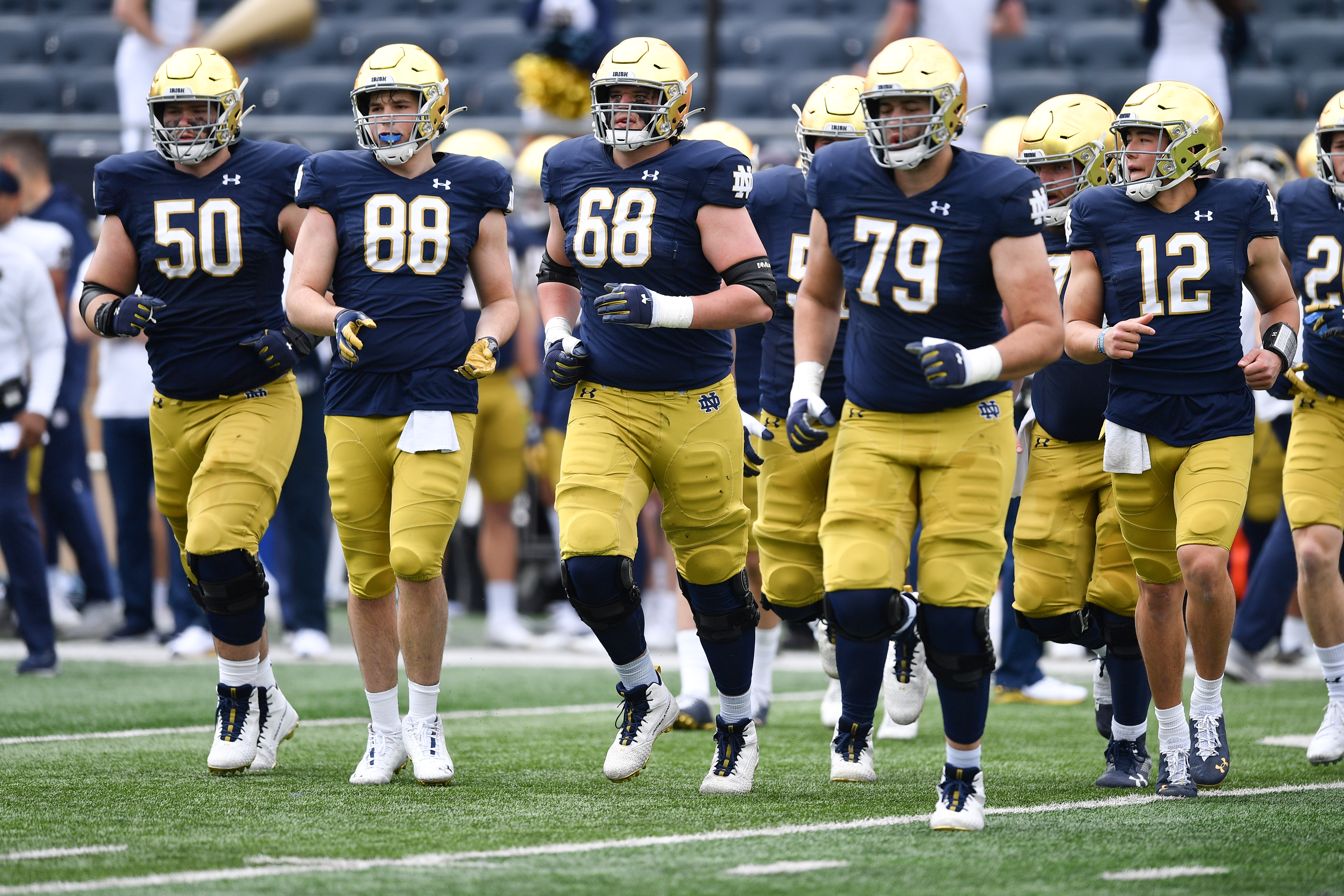 NCAA Football: Notre Dame Blue-Gold Game