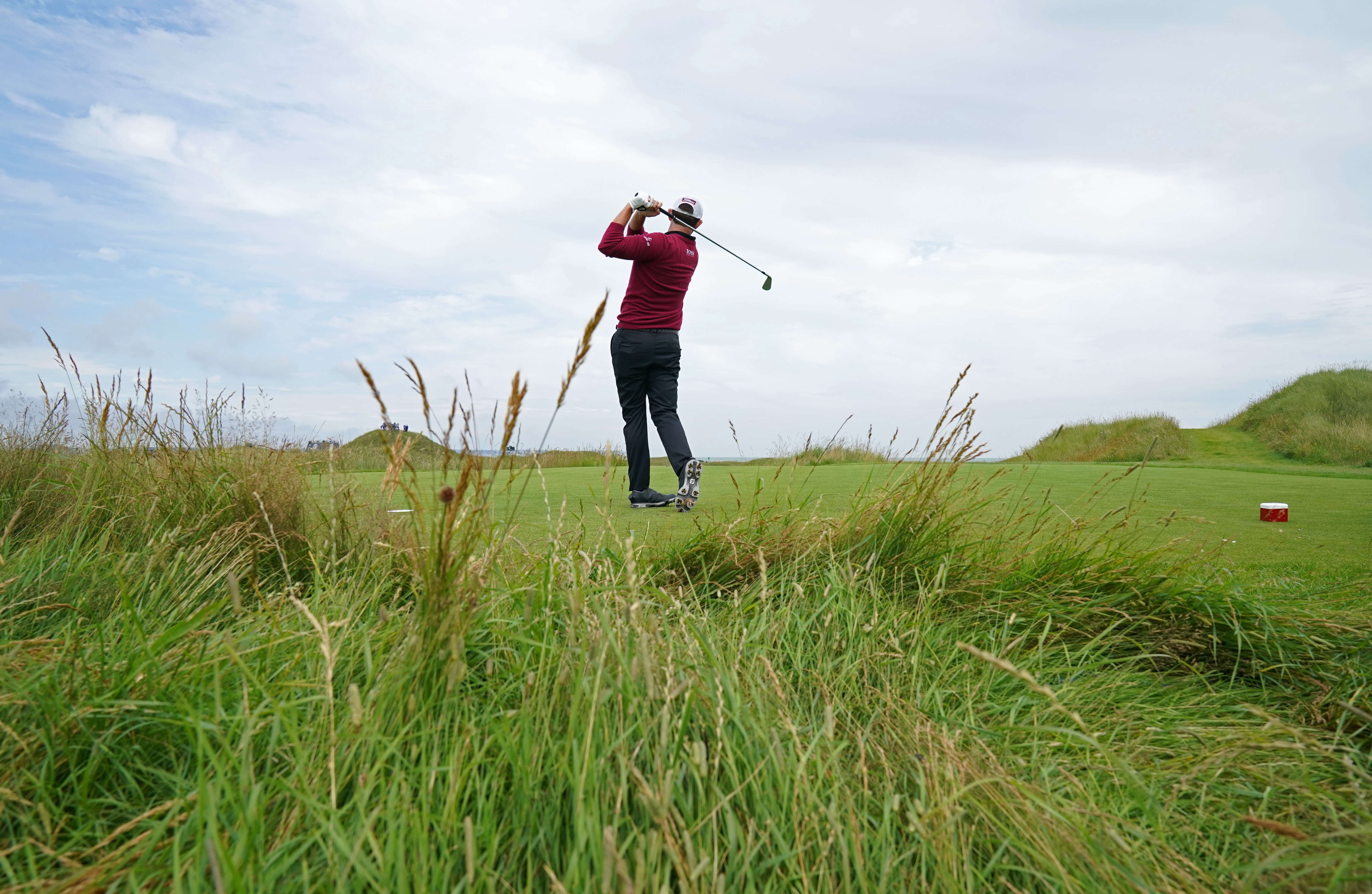 USA's Patrick Cantlay during the preview day at The Royal St George's Golf Club in Sandwich, Kent.
