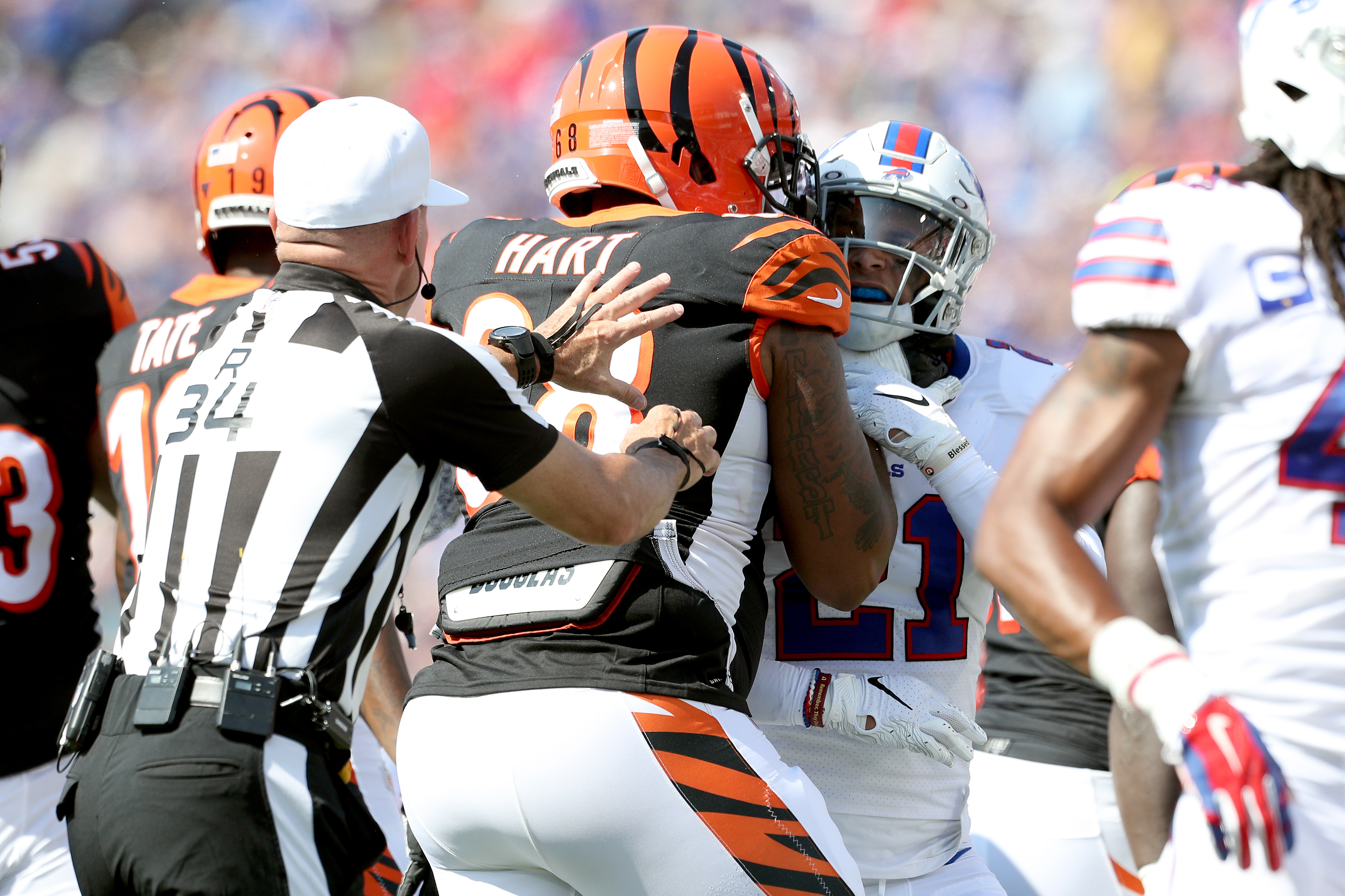 Cincinnati Bengals vBuffalo Bills