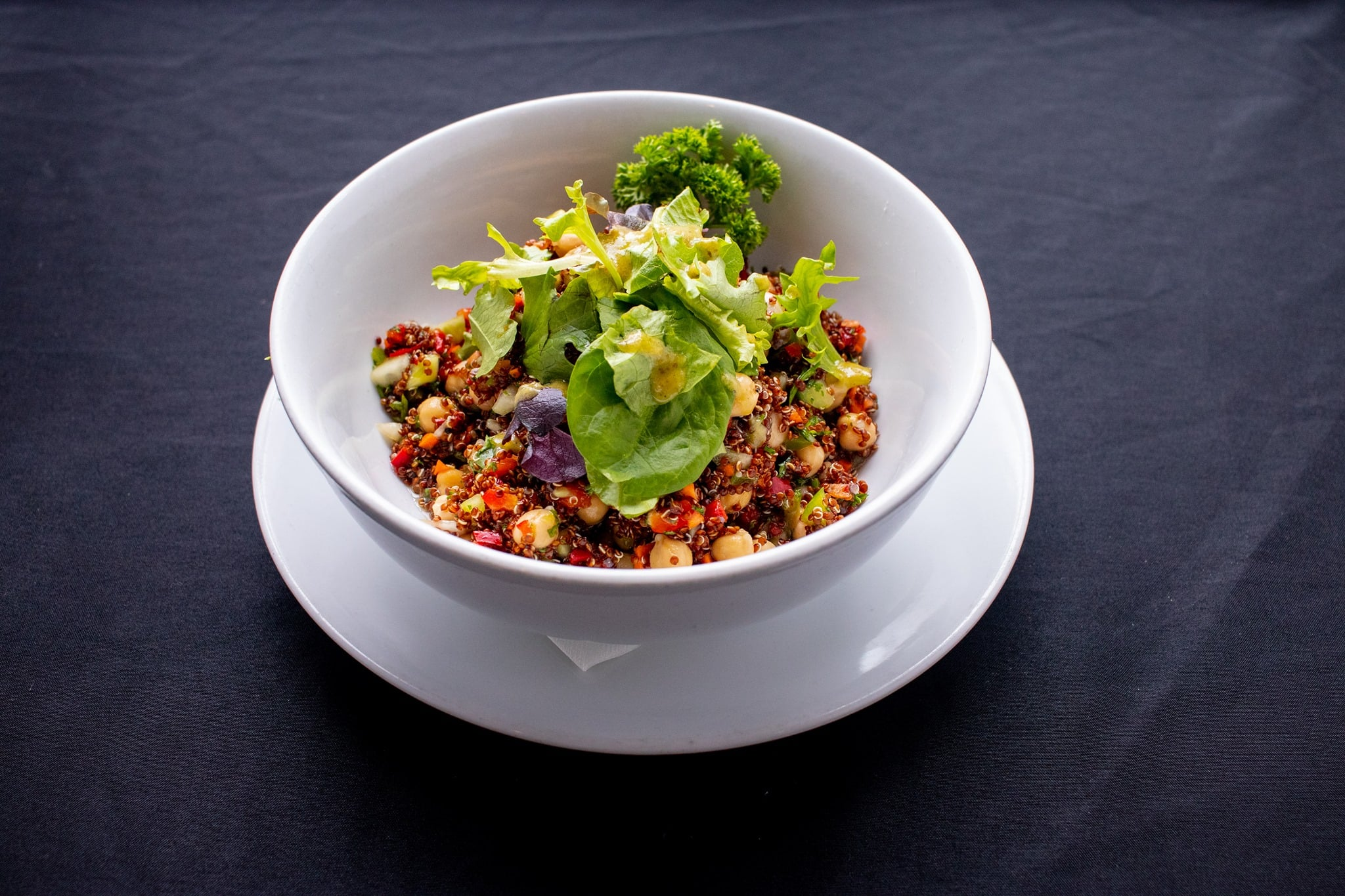 a corn and bean salad